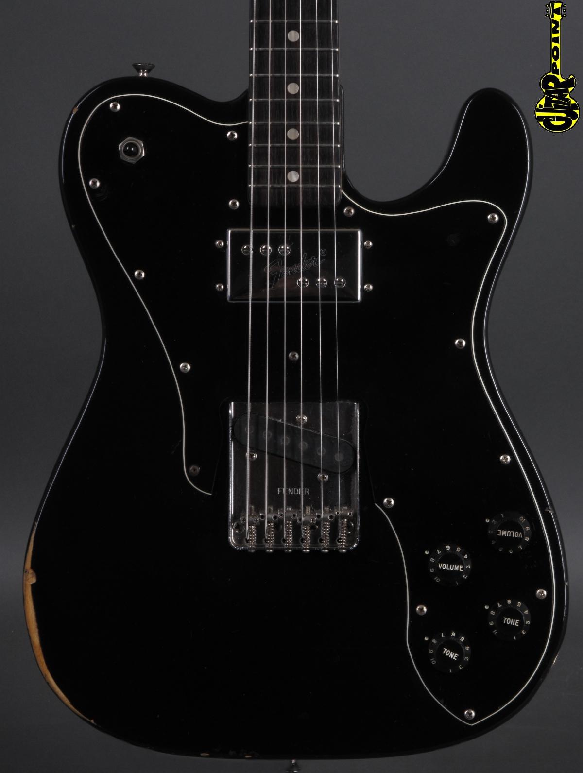 1978 Fender Telecaster Custom - Black