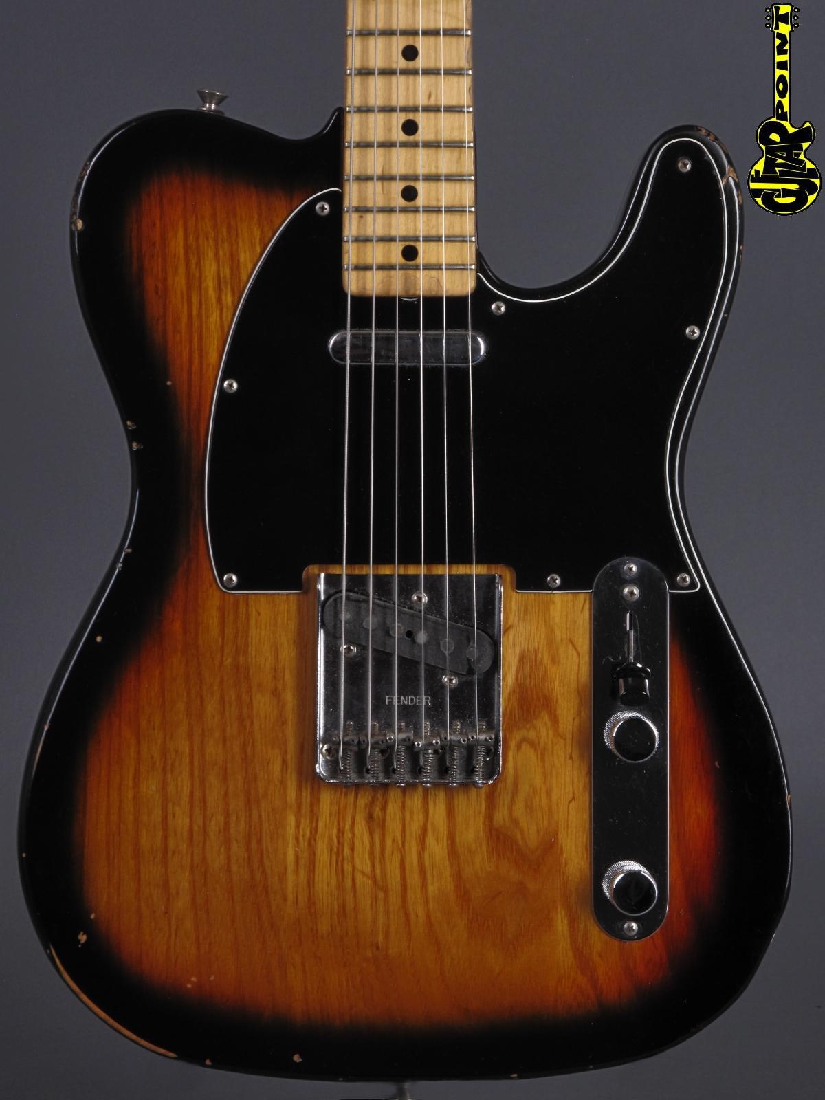 1978 Fender Telecaster - Sunburst