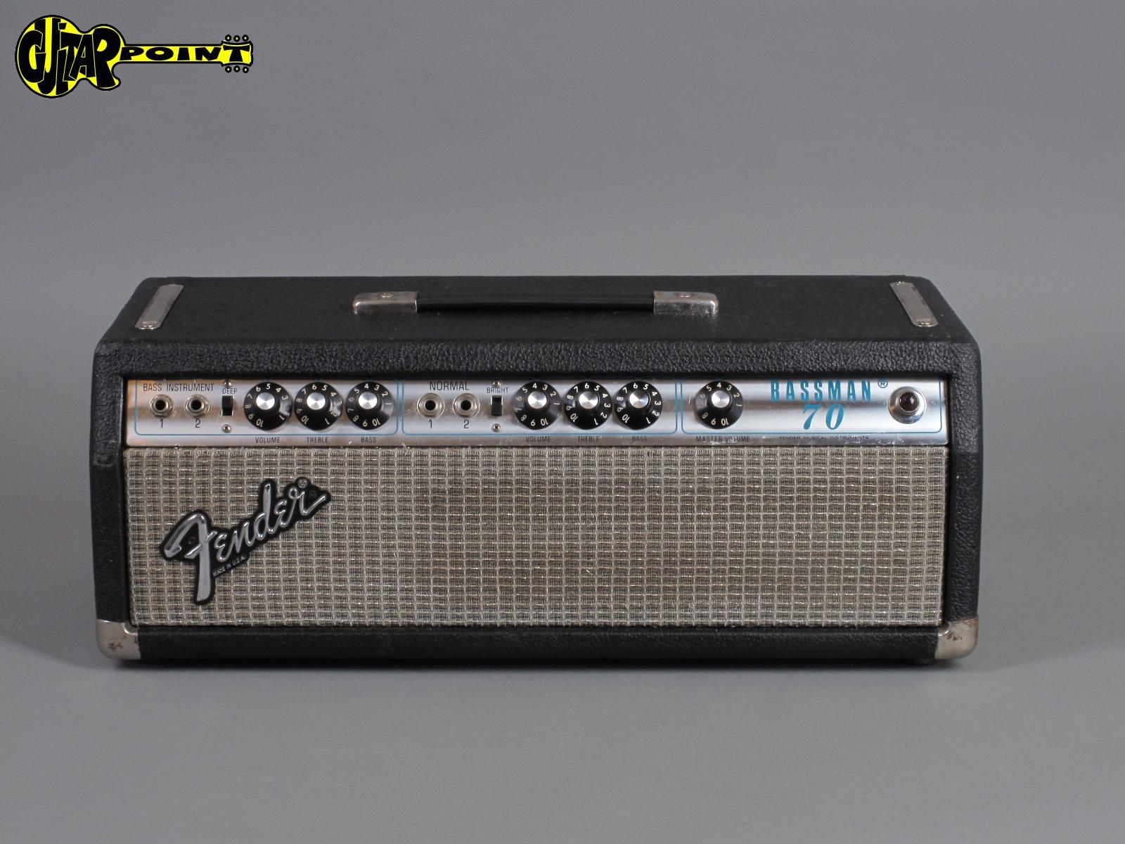 1979 Fender Bassman 70 - Silverface