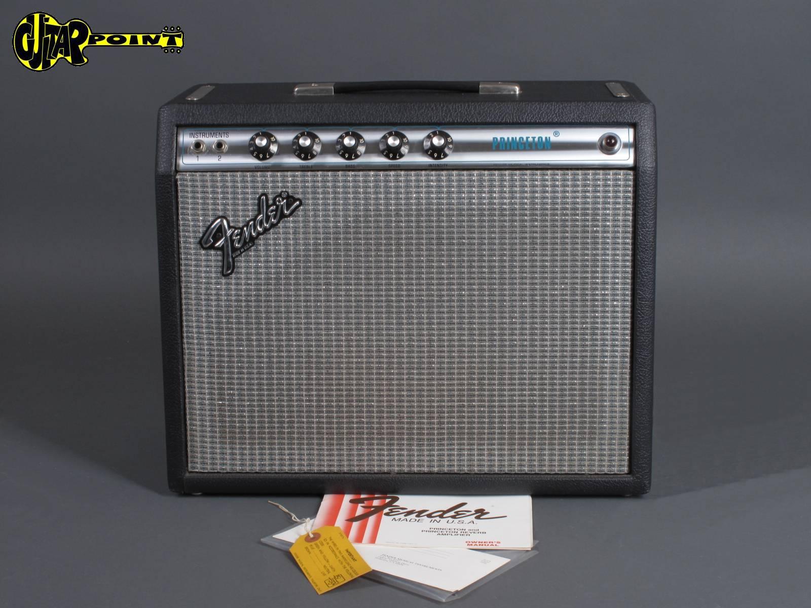1979 Fender Princeton  Amp   -  Minty !!!