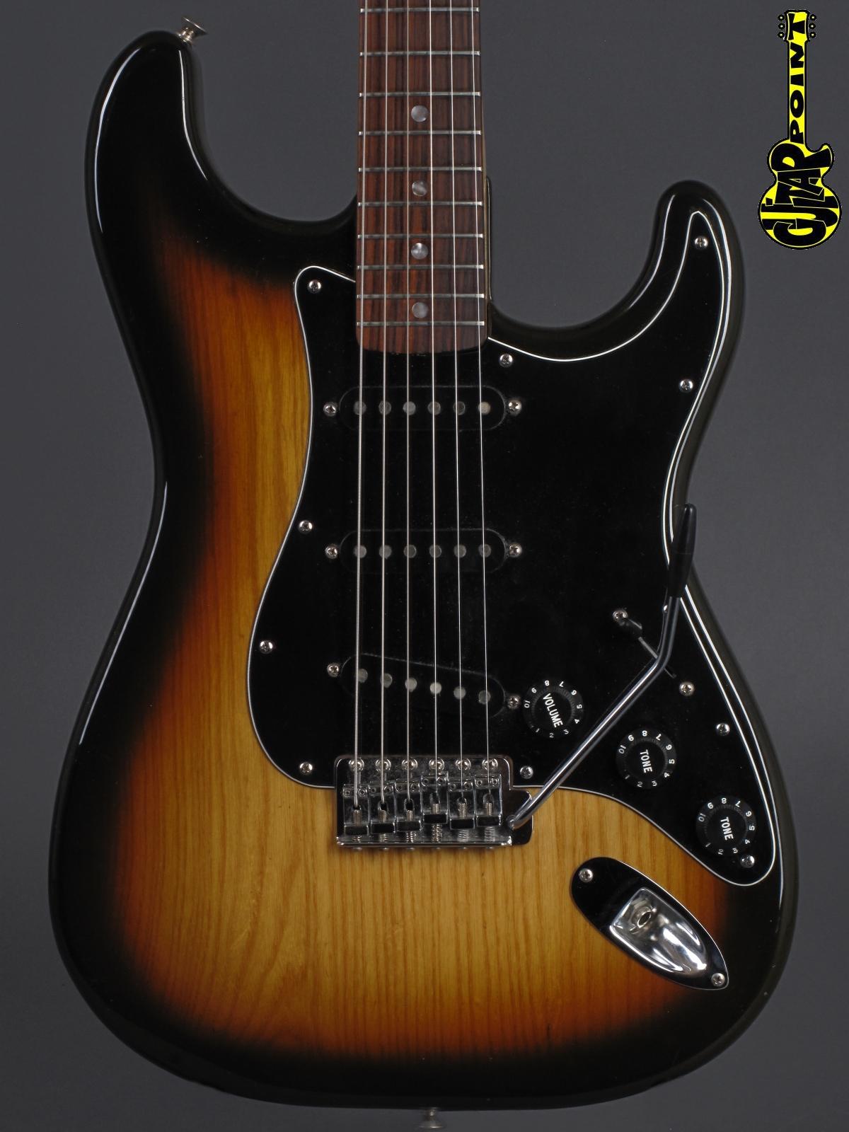 1979 Fender Stratocaster - Sunburst