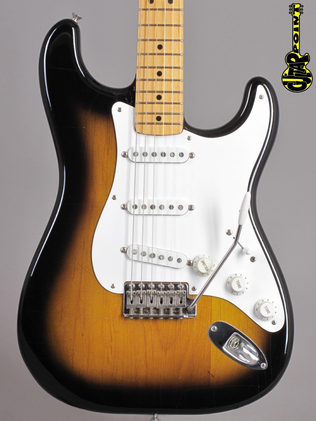 """1982 Fender American Vintage '57 """"Fullerton"""" Reissue Stratocaster - 2-tone Sunburst"""