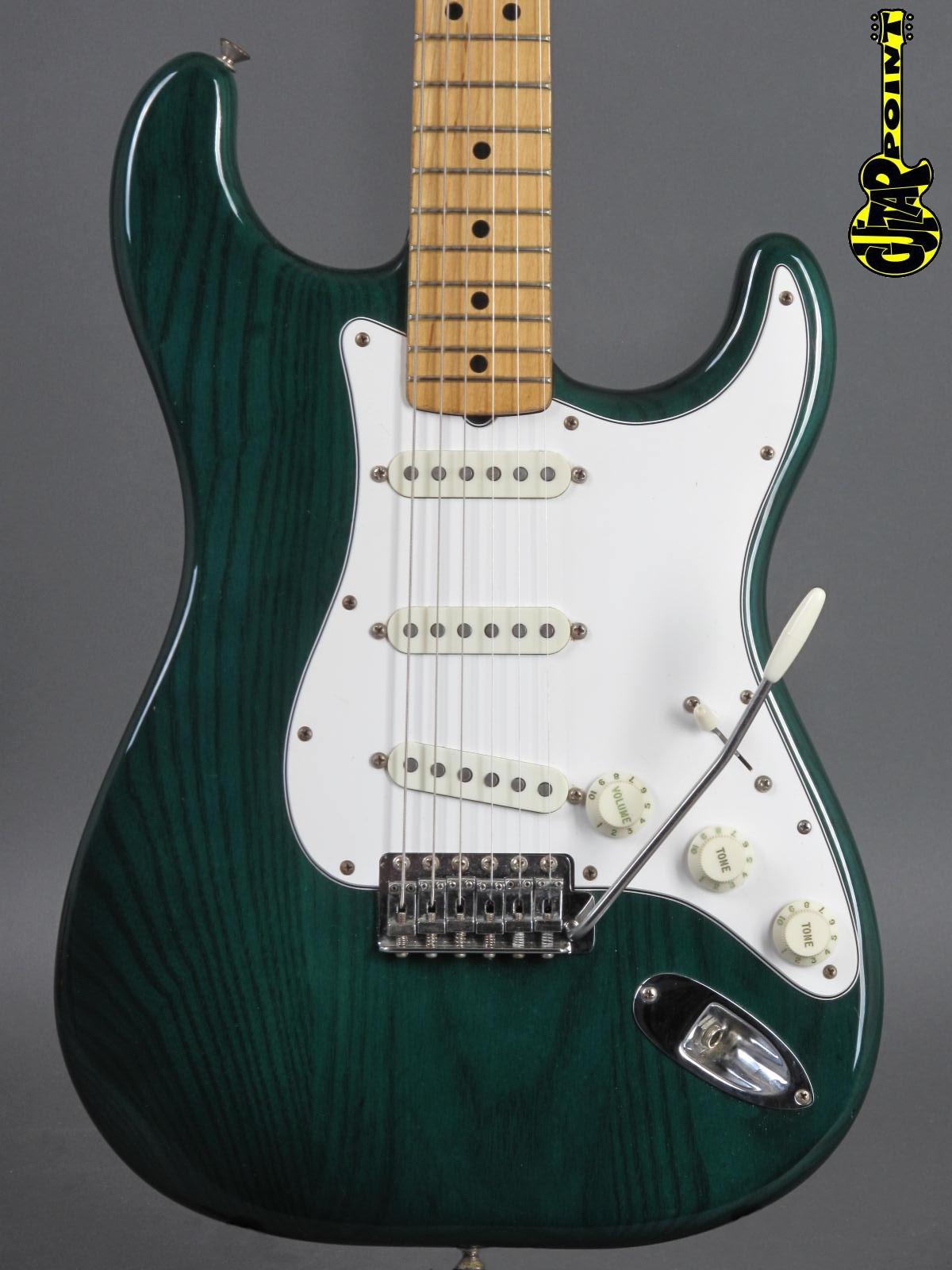1982 Fender Stratocaster - Emerald Green (Dan Smith aera)