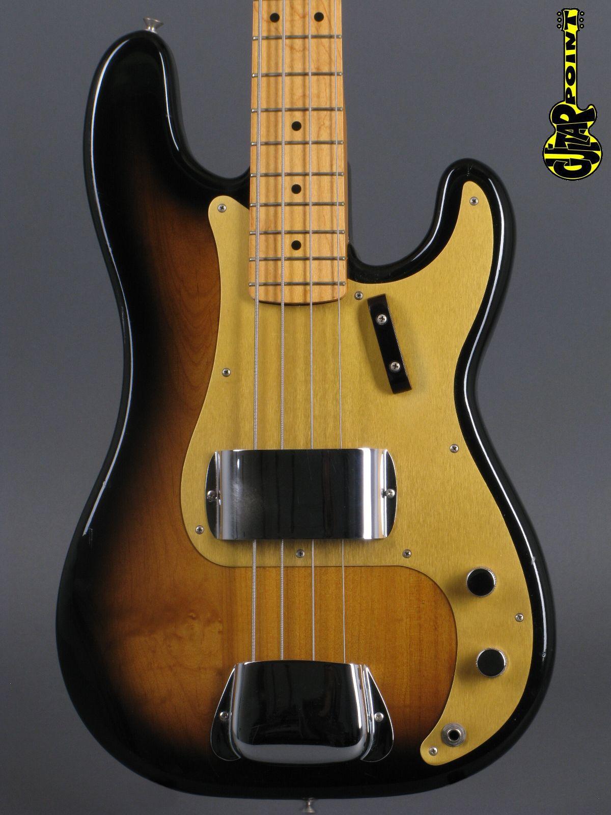 """1982 Fender´57 Precision Bass - 2-tone Sunburst """"Fullerton"""" (Vintage Reissue)"""