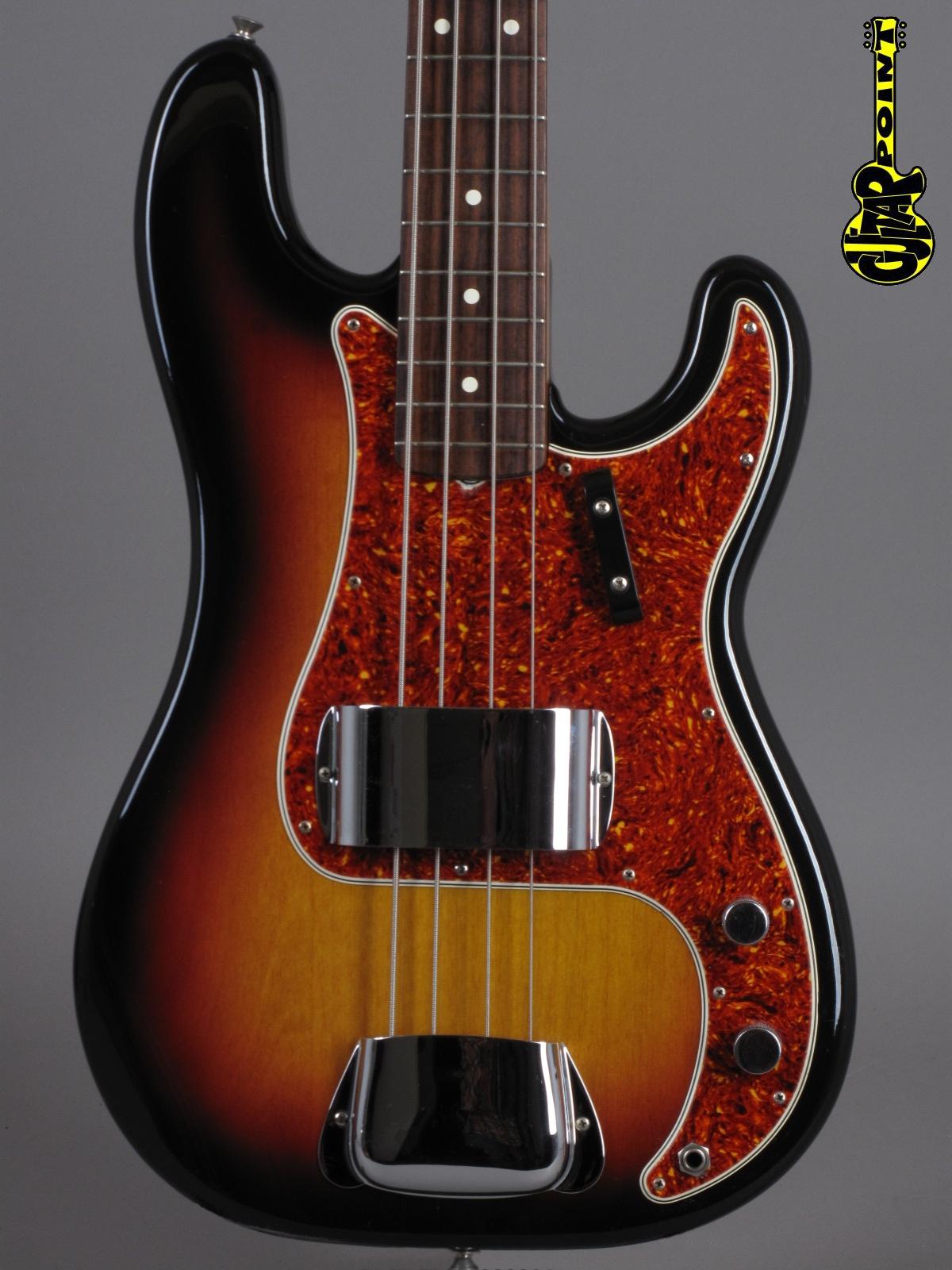 """1983 Fender ´62 Precision Bass - 3-tone Sunburst """"Fullerton"""" (Vintage Reissue)"""