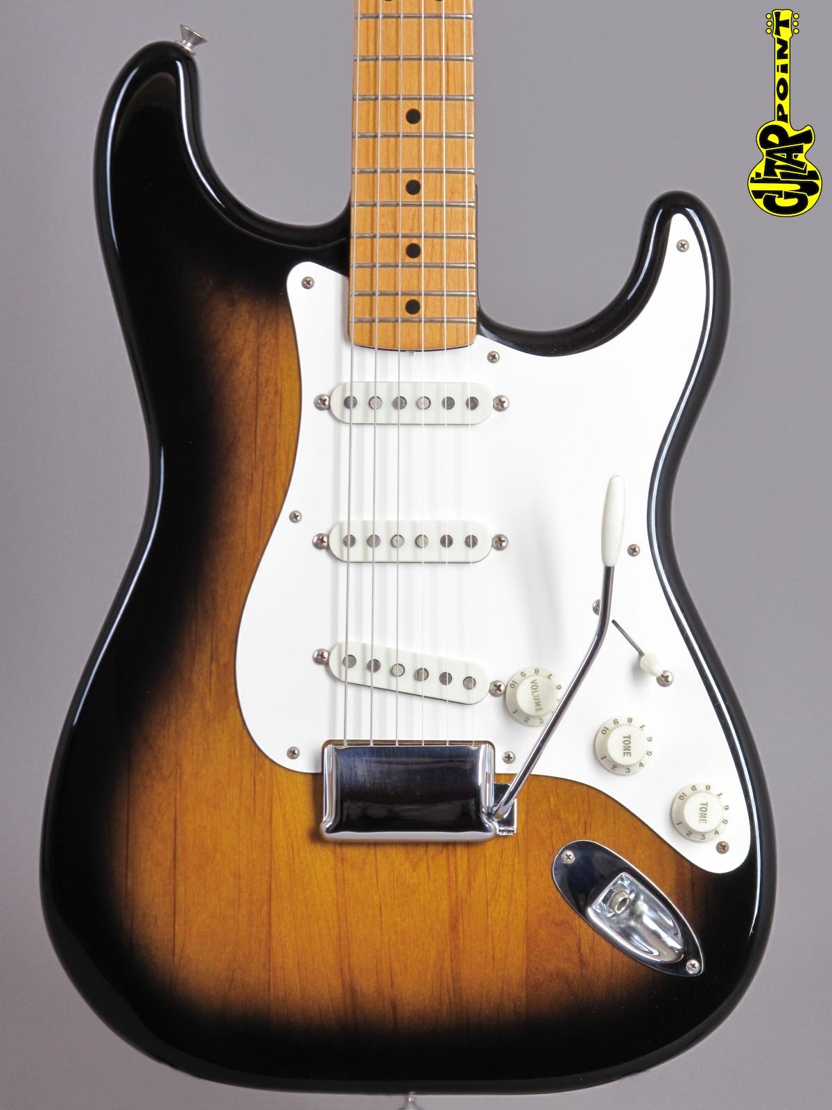 """1983 Fender American Vintage '57 """"Fullerton"""" Reissue Stratocaster - 2-tone Sunburst"""