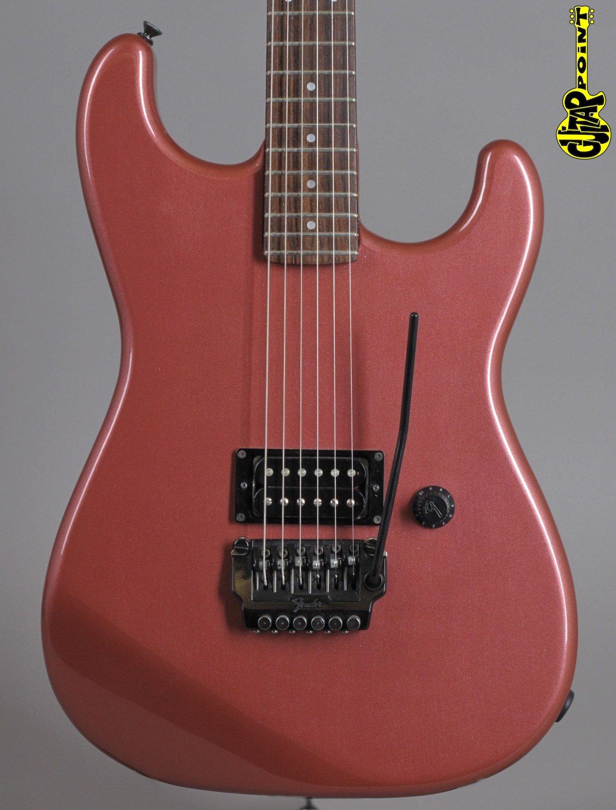 1985 Fender HM Stratocaster - Burgundy Mist Metallic