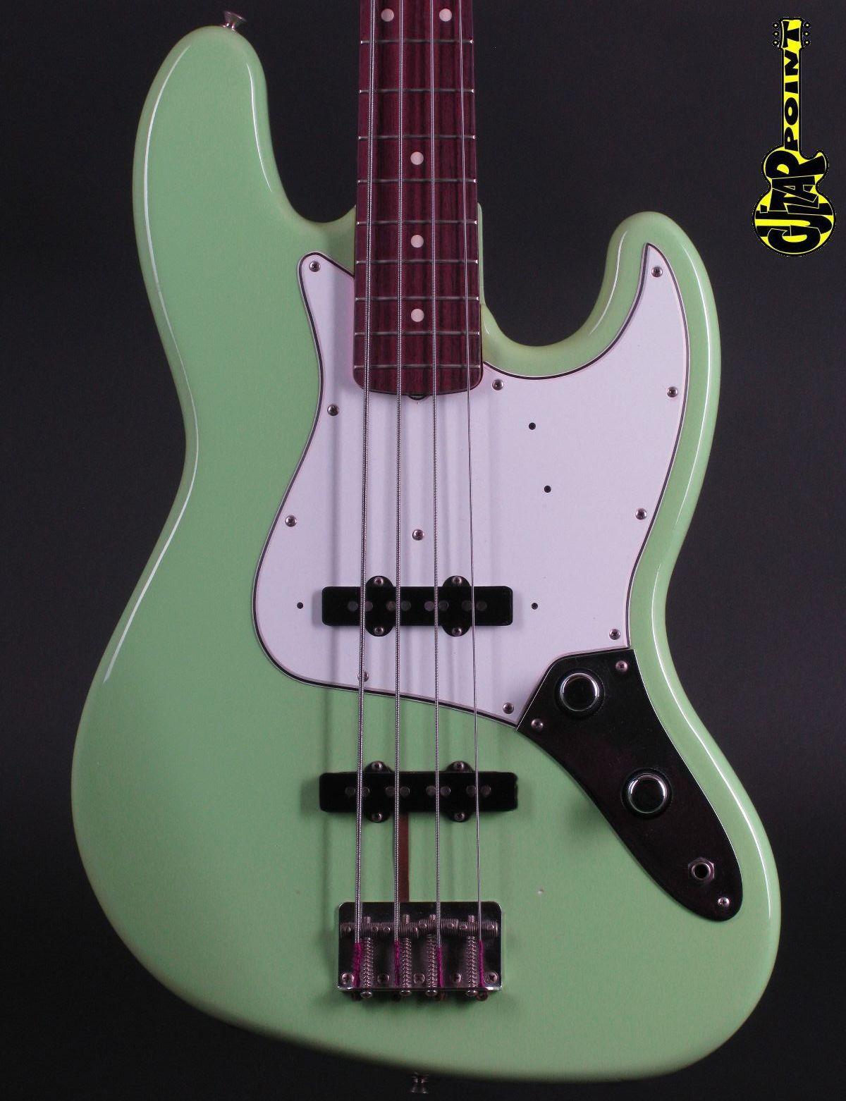 1986 Fender ´62 Jazz Bass - Seafoam Green (Vintage Reissue)