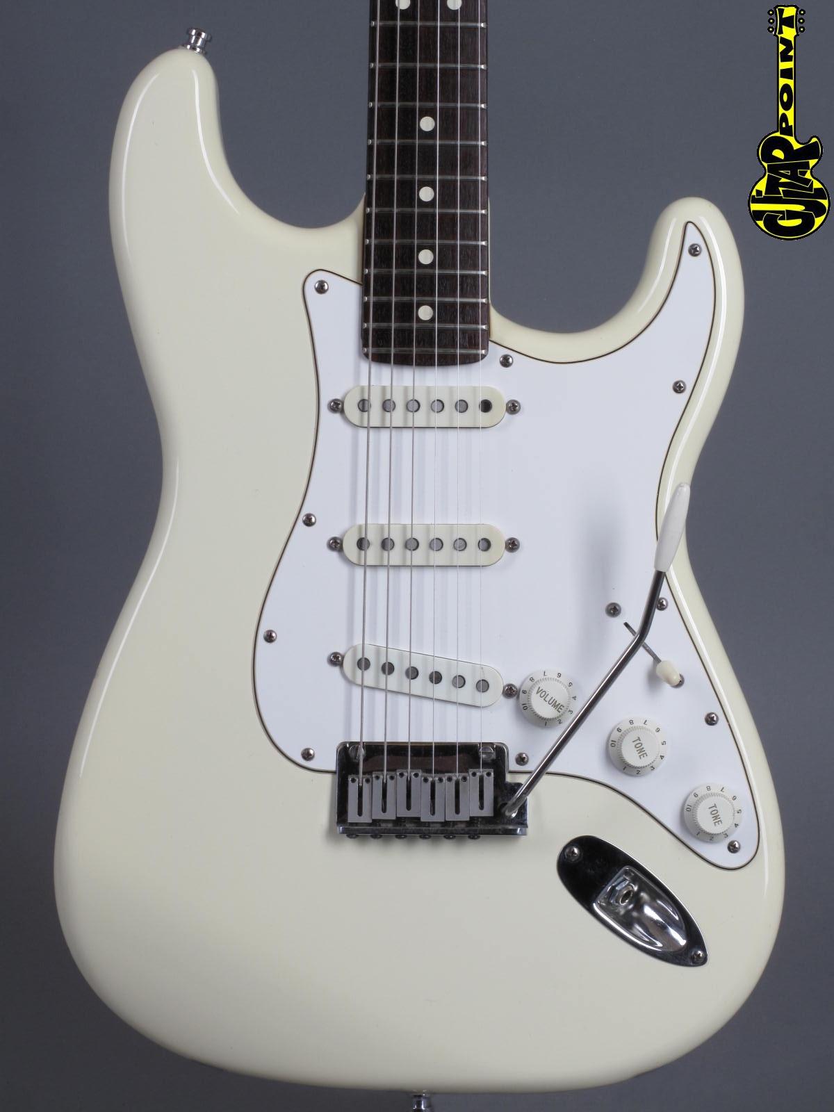 1988 Fender American Standard Stratocaster - Olympic White