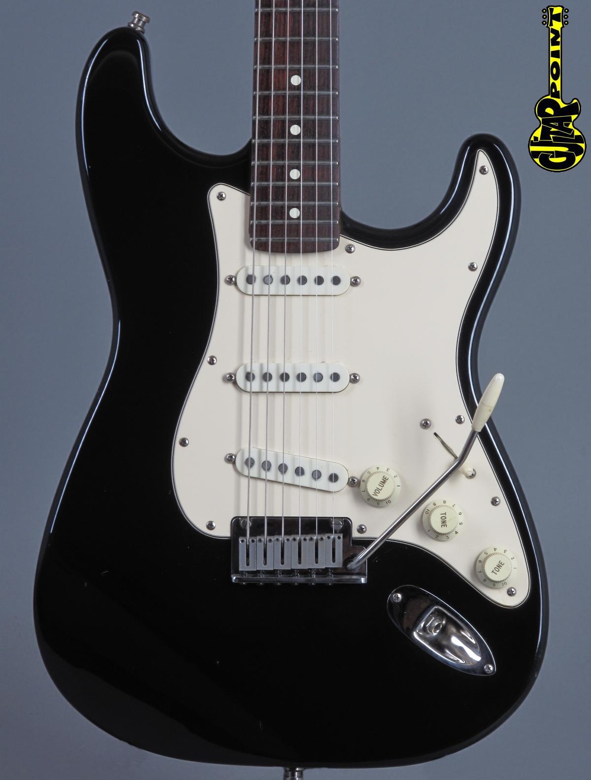 1989 Fender American Standard Stratocaster - Black
