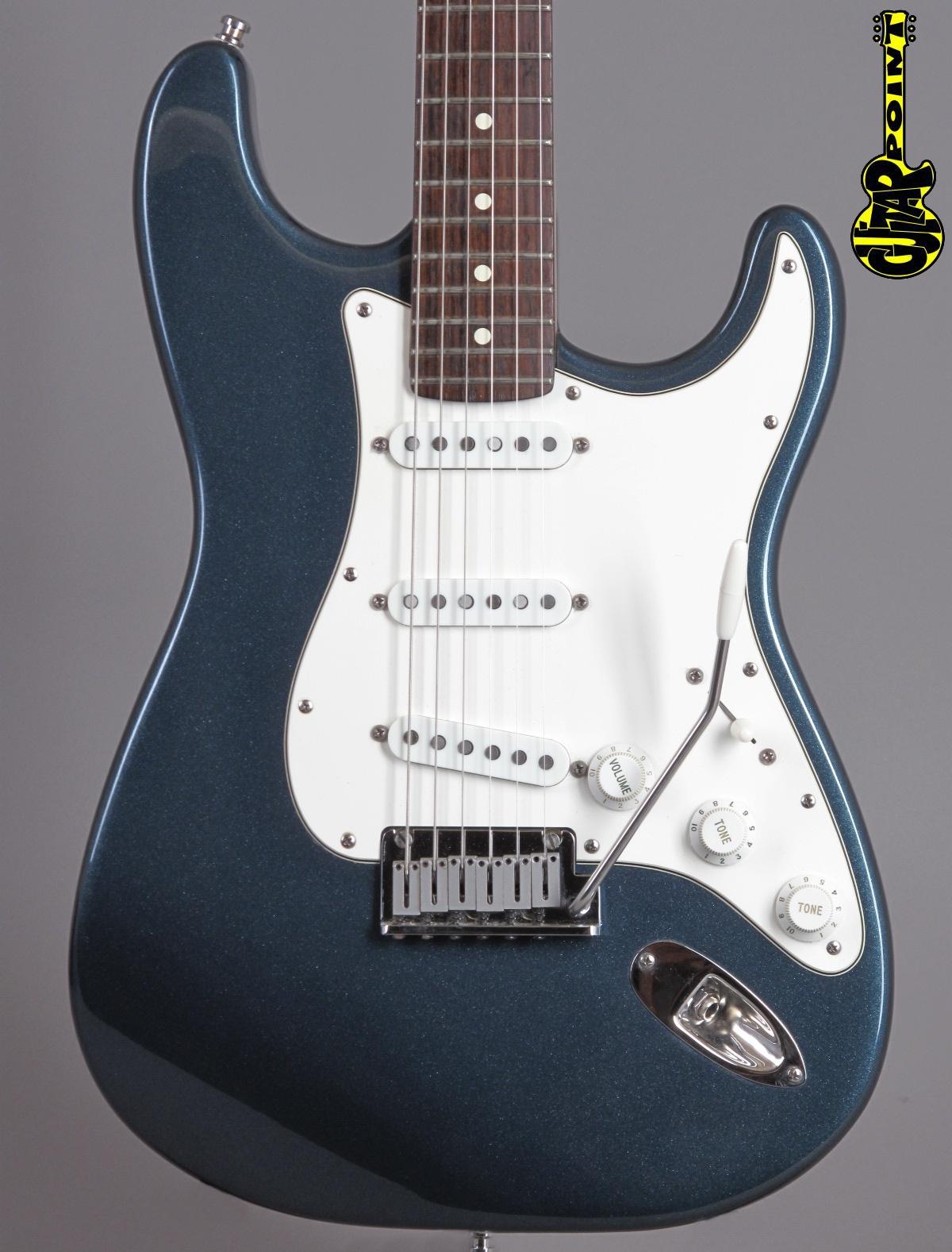 1989 Fender Stratocaster - Gun Metal Blue Metallic