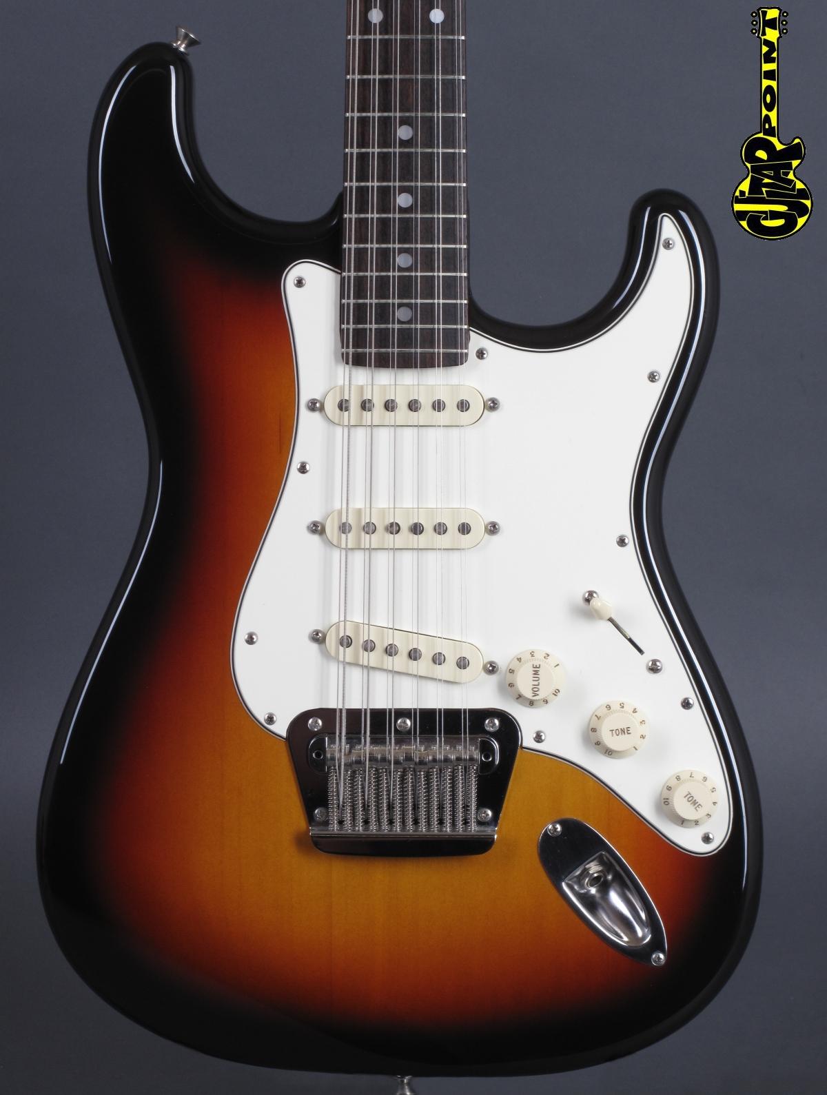 1994 Fender Stratocaster XII 3-tone Sunburst /12-String!