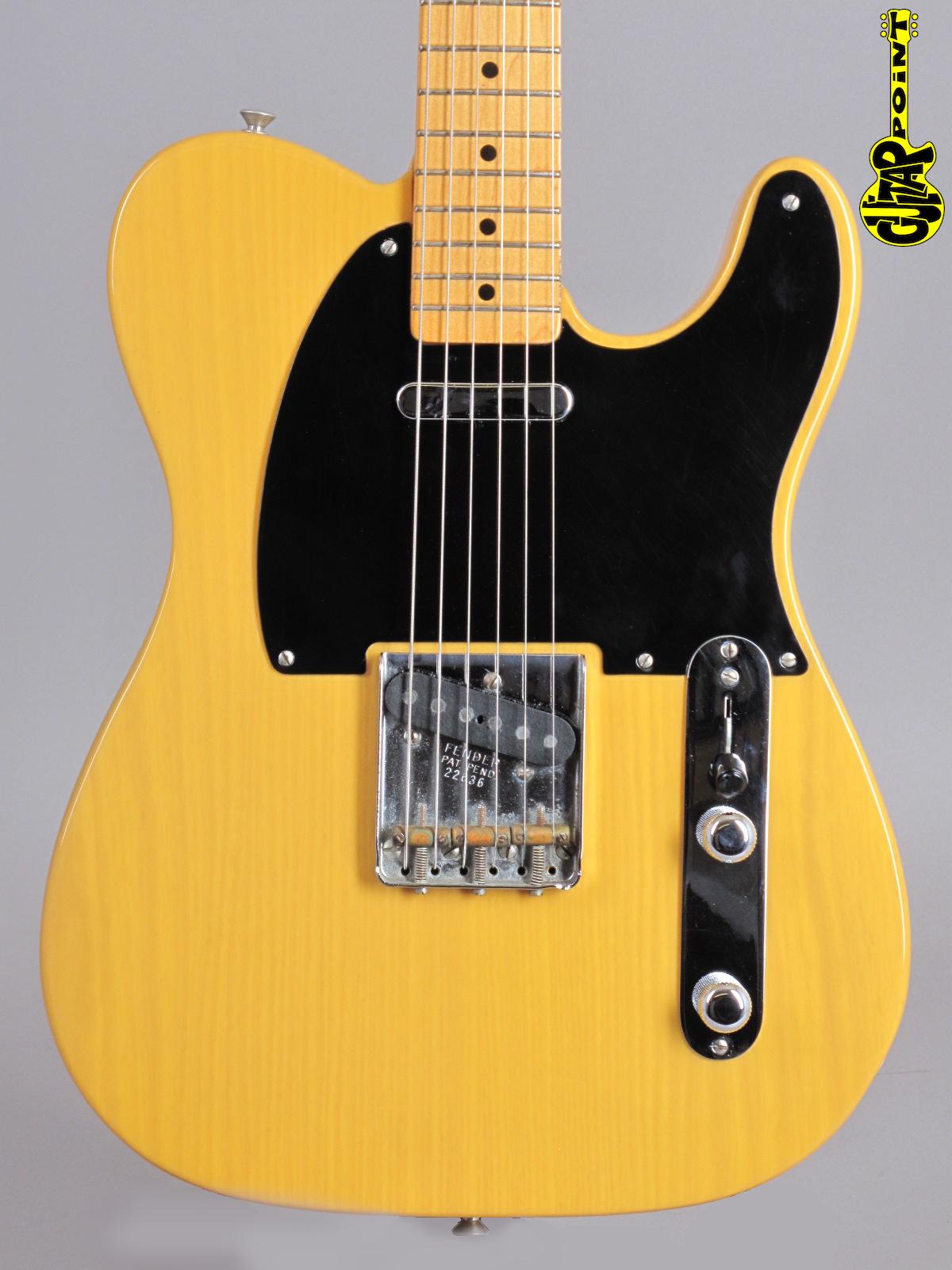 1995 Fender American Vintage 1952 Telecaster - Blond