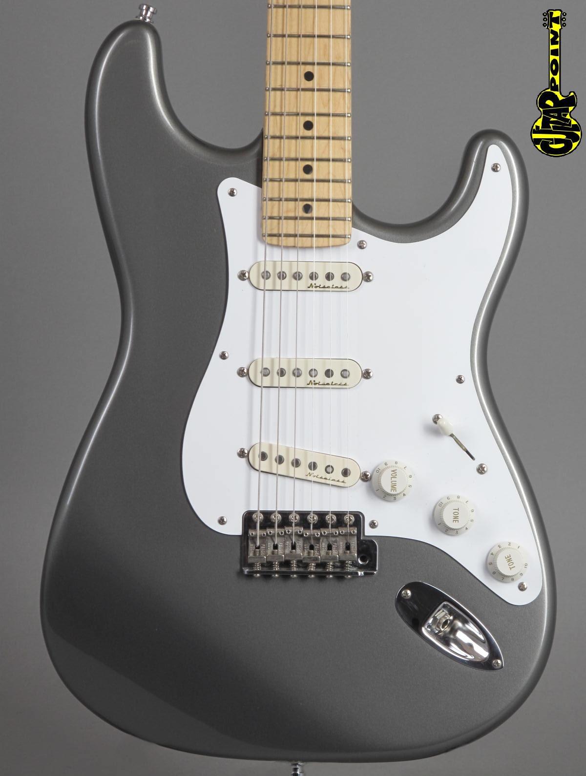 1996 Fender Eric Clapton Stratocaster - Pewter Metallic
