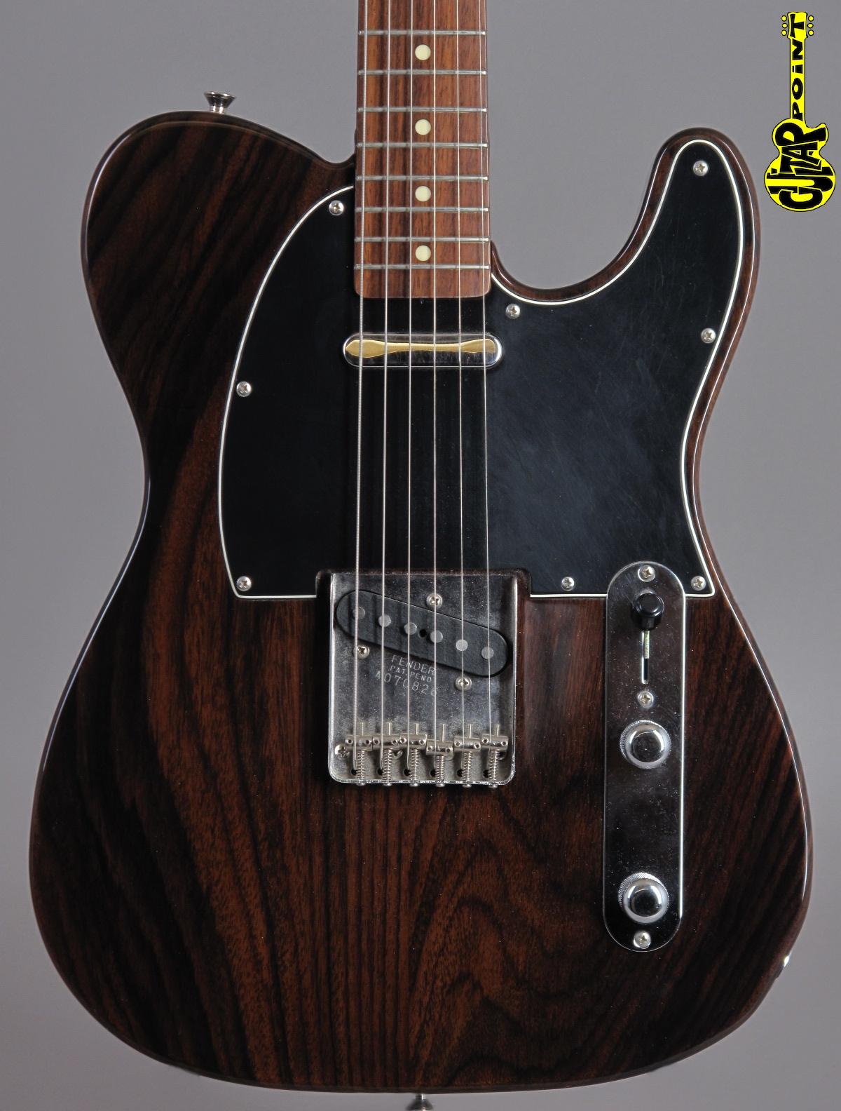 1996 Fender Rosewood MIJ Telecaster - Natural
