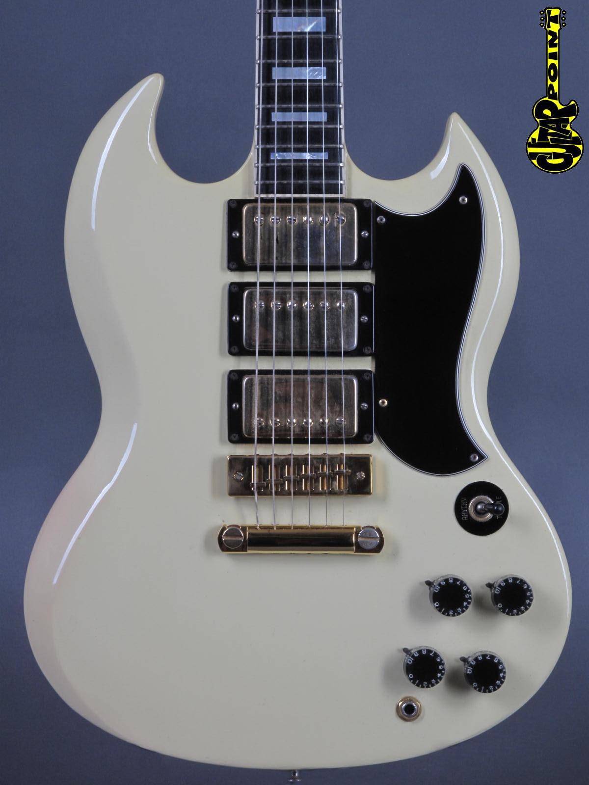 1974 Gibson SG Custom - White