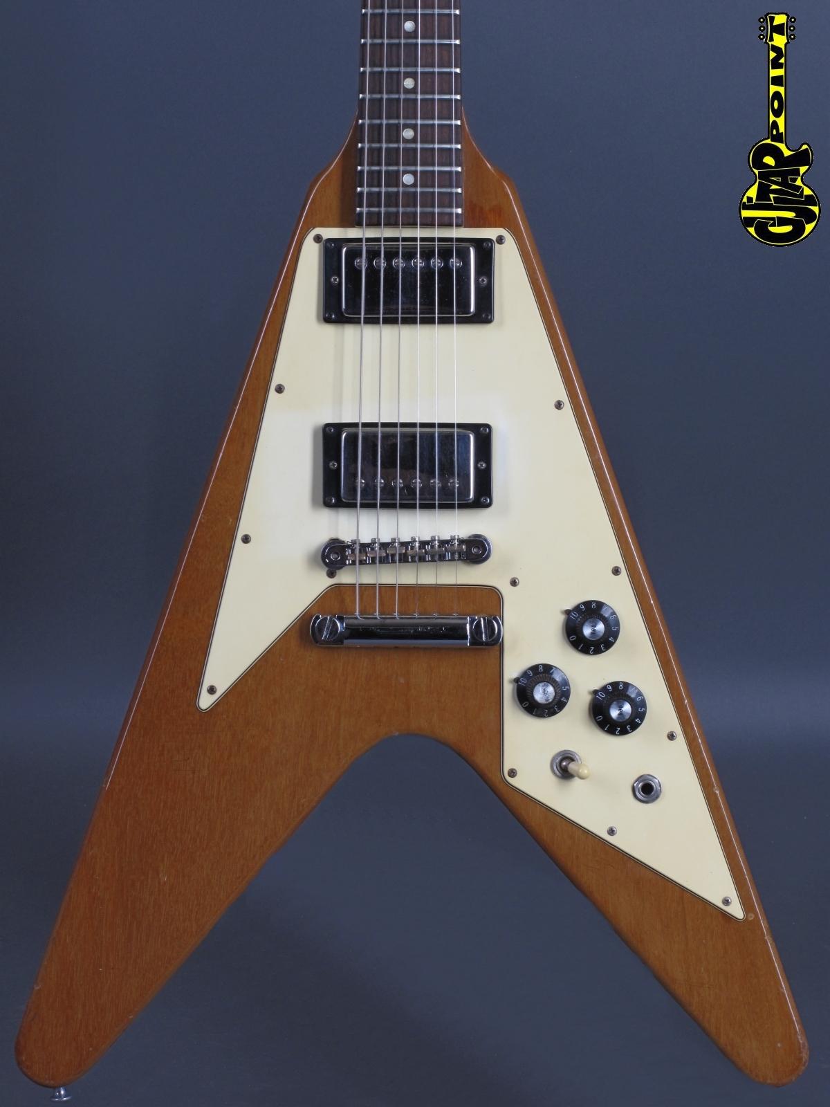 1975 Gibson Flying V - Natural   ...only 2,98Kg!