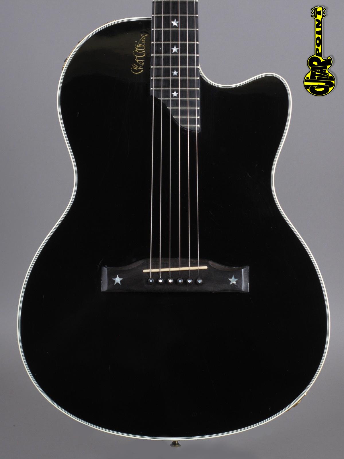 1993 Gibson Chet Atkins SST - Ebony