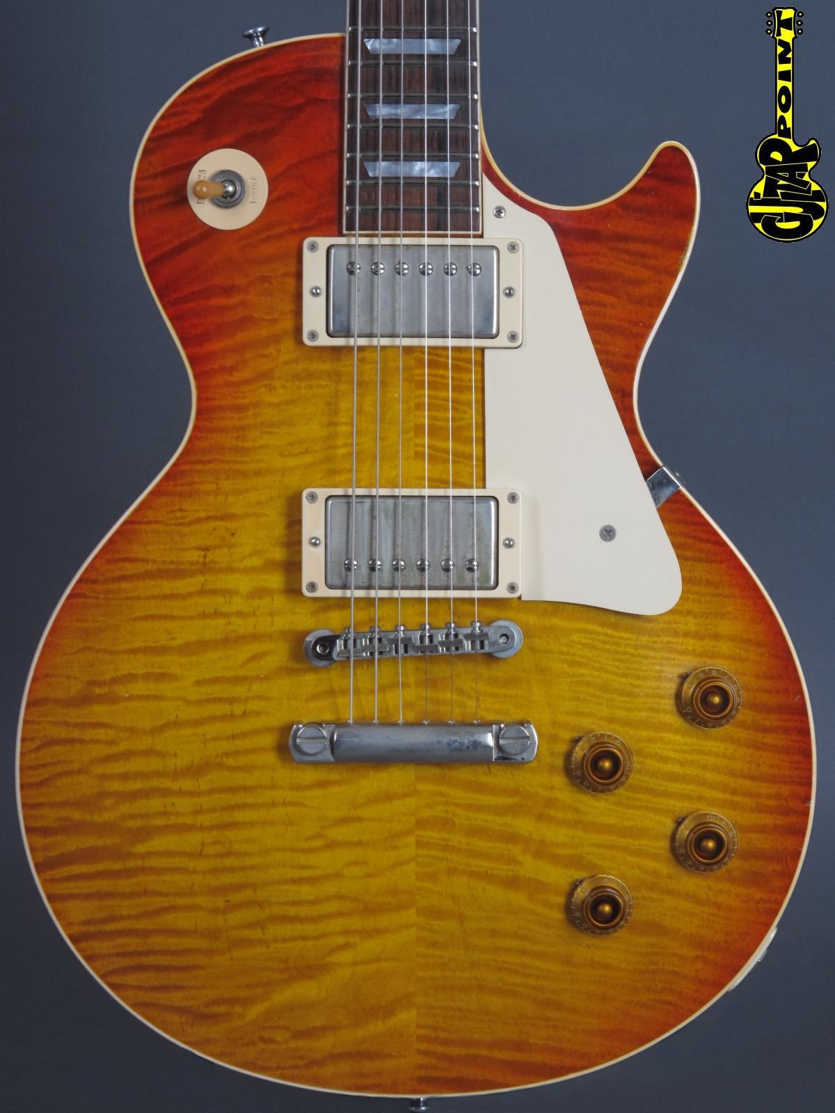 "2001 Gibson Les Paul 1959 Reissue ""Murphy Aged"" -  Cherry Sunburst"