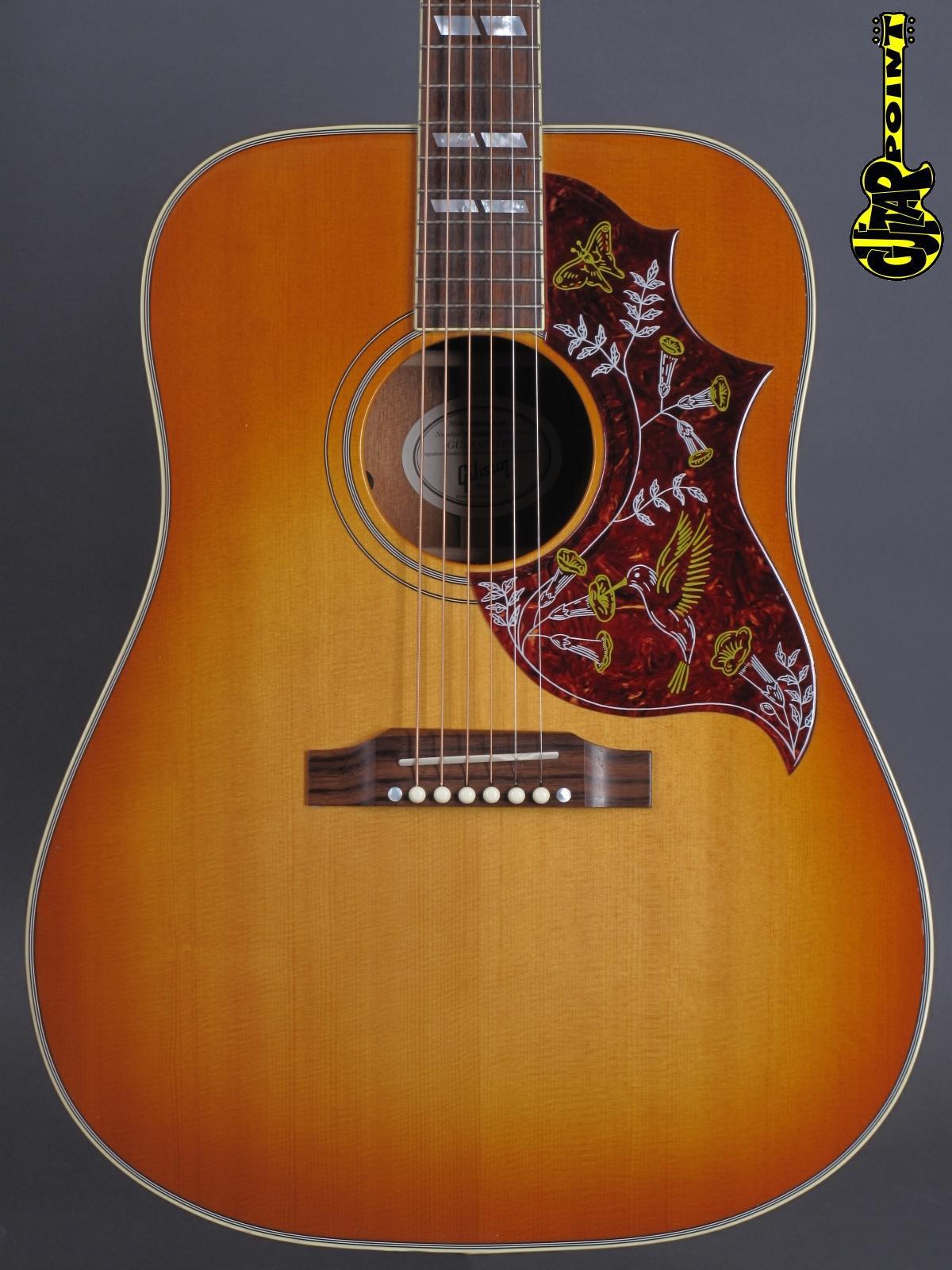 2014 Gibson Hummingbird - Heritage Cherryburst