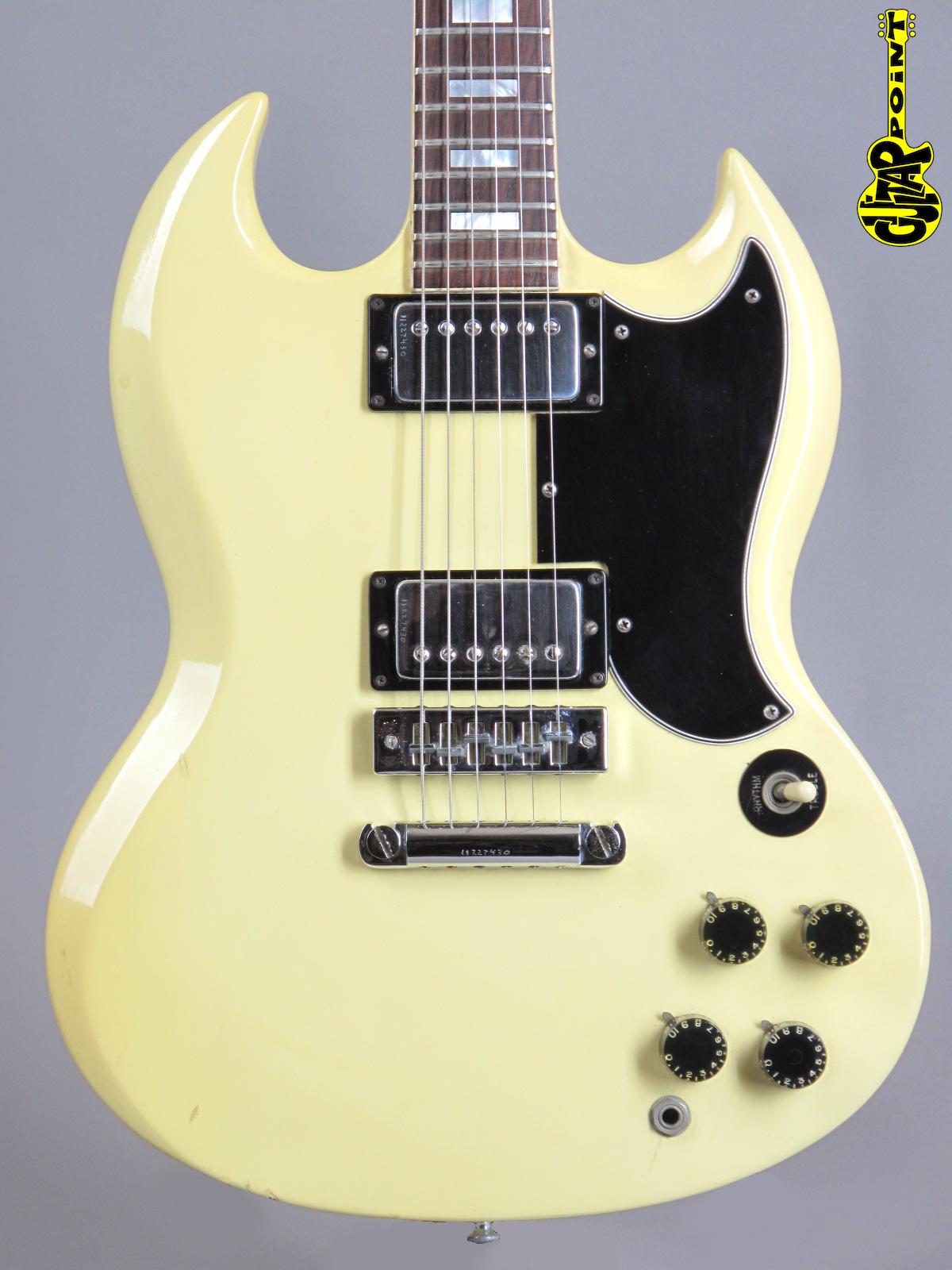 1976 Gibson SG Standard - White (!)