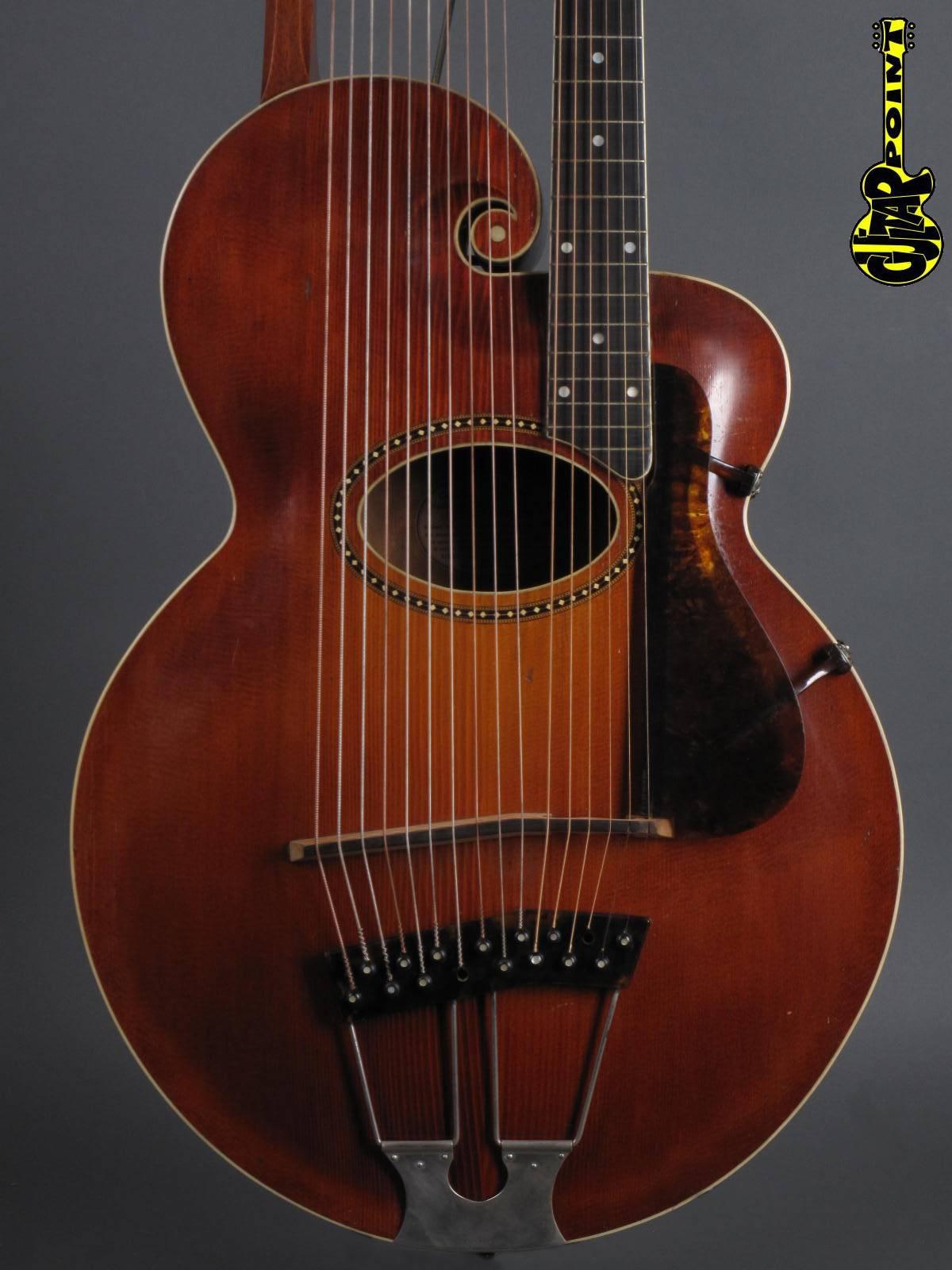 1920 Gibson Style-U Harp Guitar