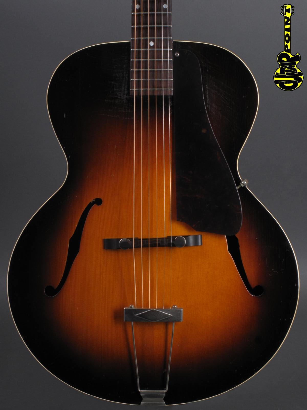 1938 Gibson L-50 - Sunburst  incl. orig. Geib case