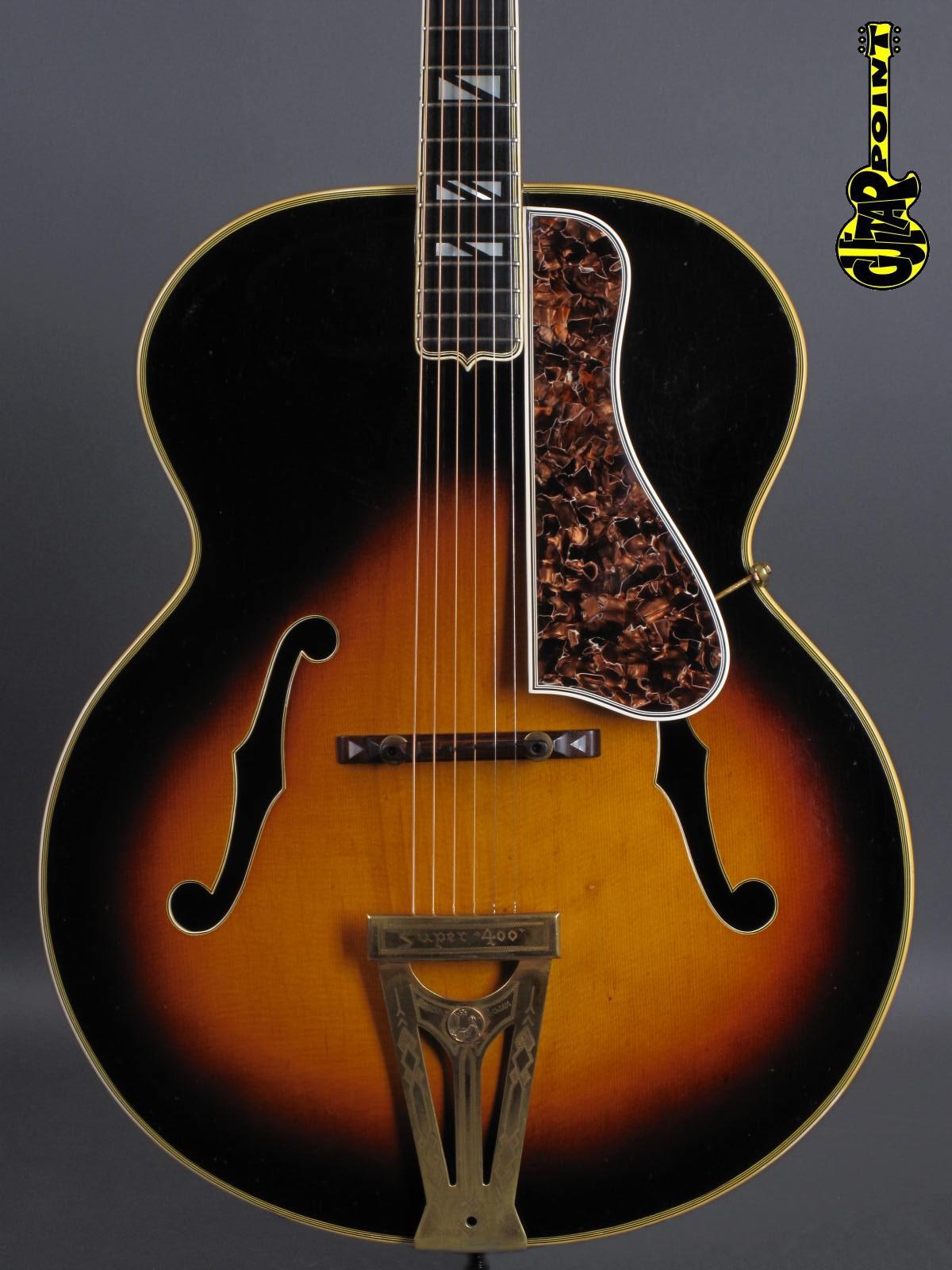 1939 Gibson Super 400 - Sunburst inkl. Case