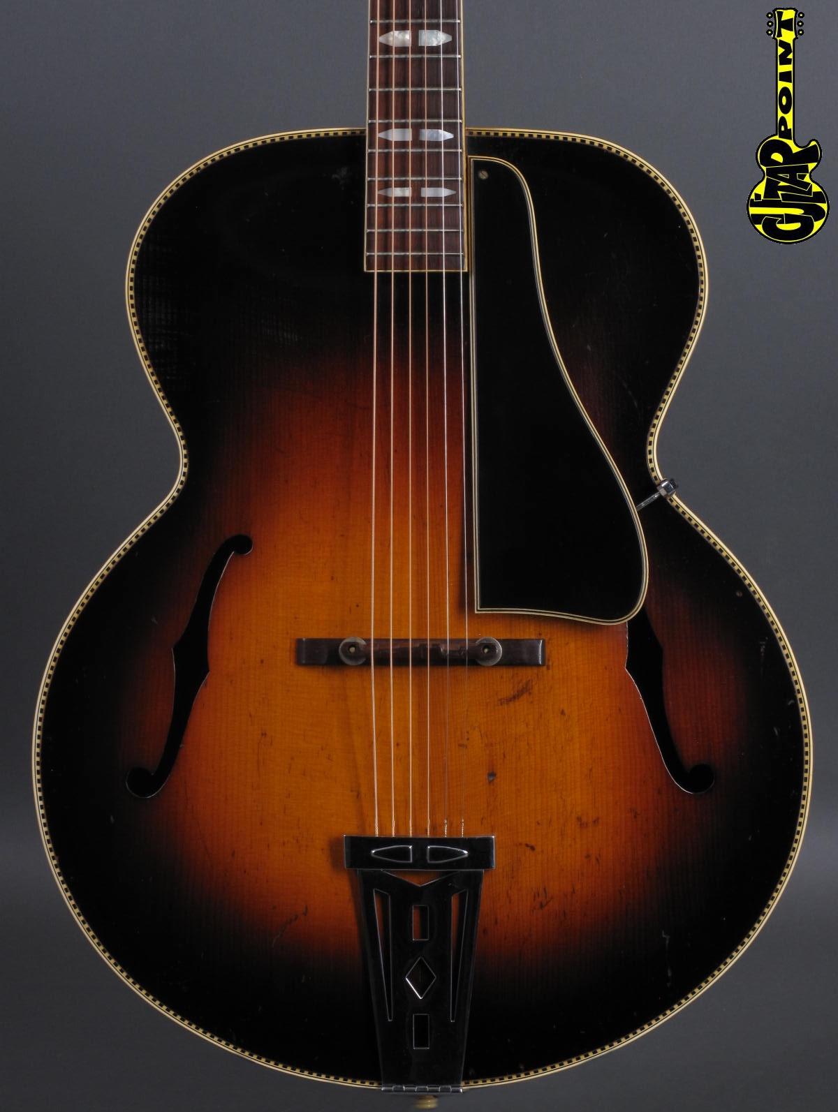 1939 Gibson L-10 - Sunburst