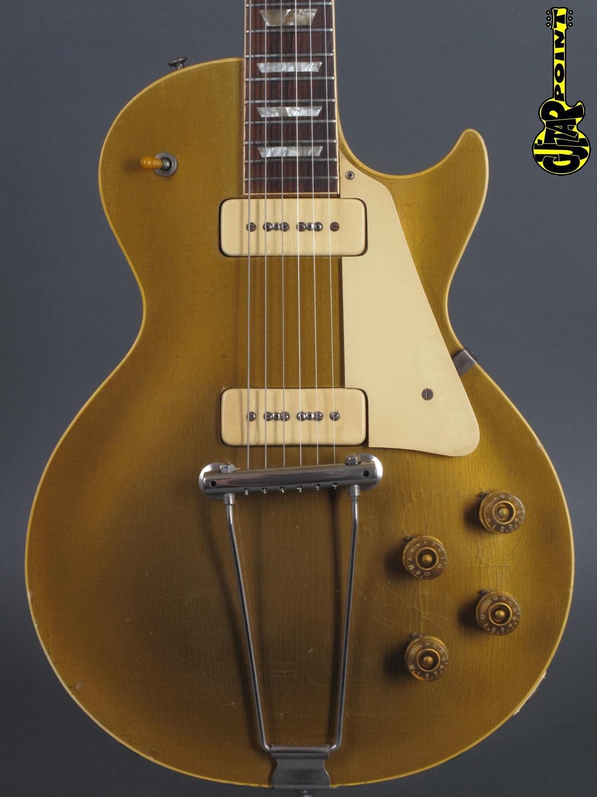 1952 Gibson Les Paul Goldtop incl. orig. Brown Case