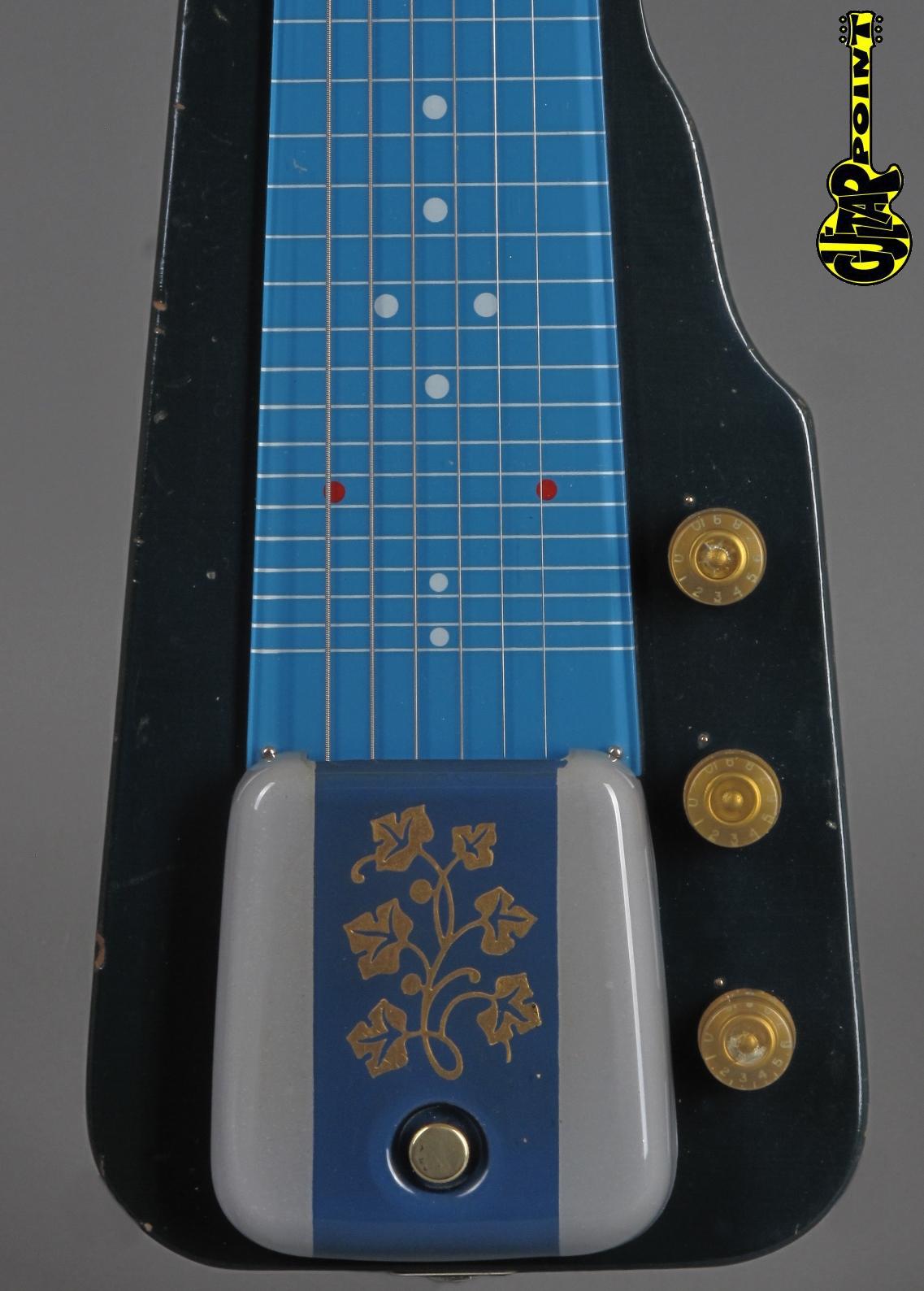 1953 GIBSON Century (V-2) - Blue / 6-string  Lapsteel guitar