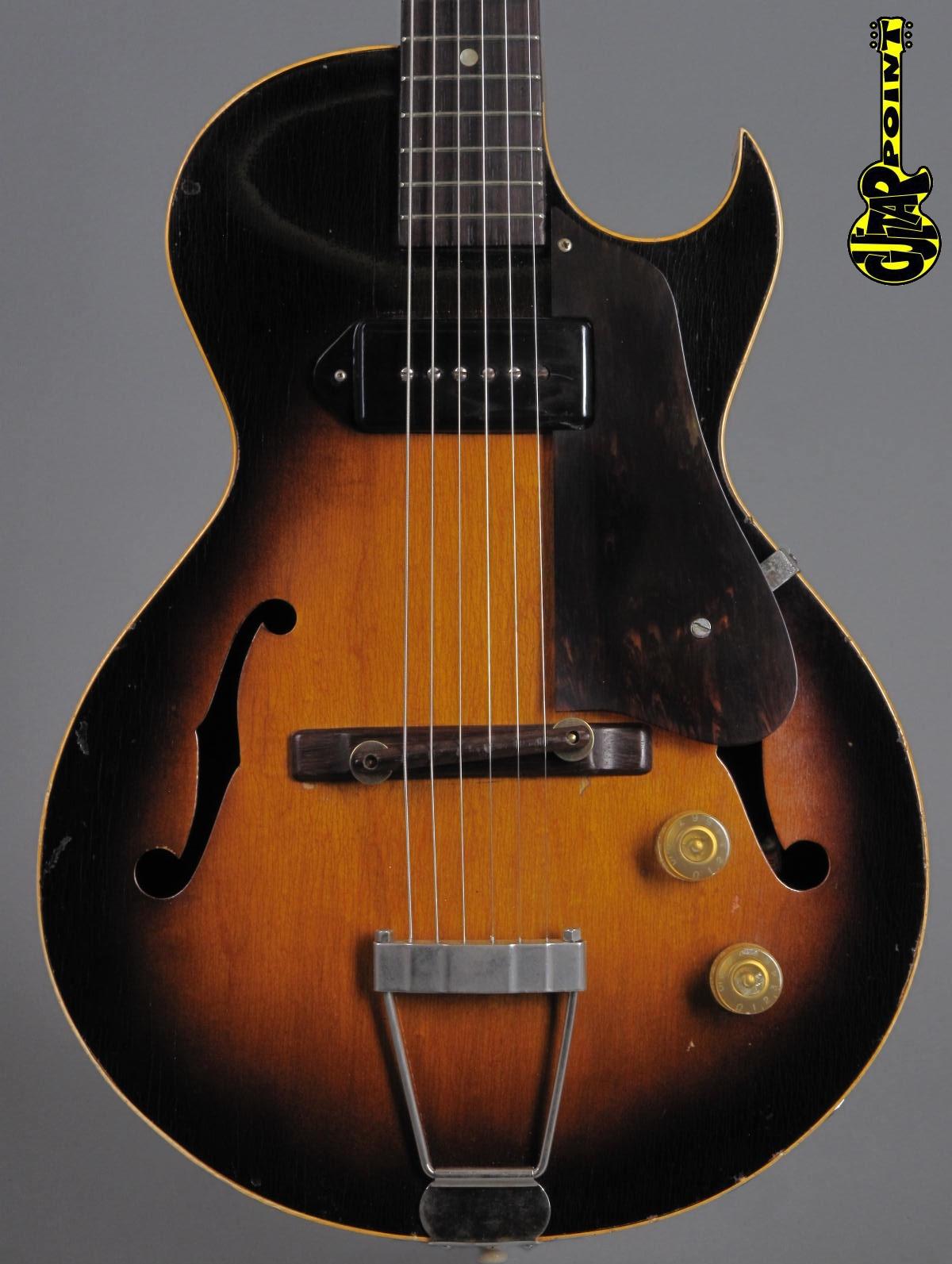 1954 Gibson ES-140 - Sunburst  - 3/4