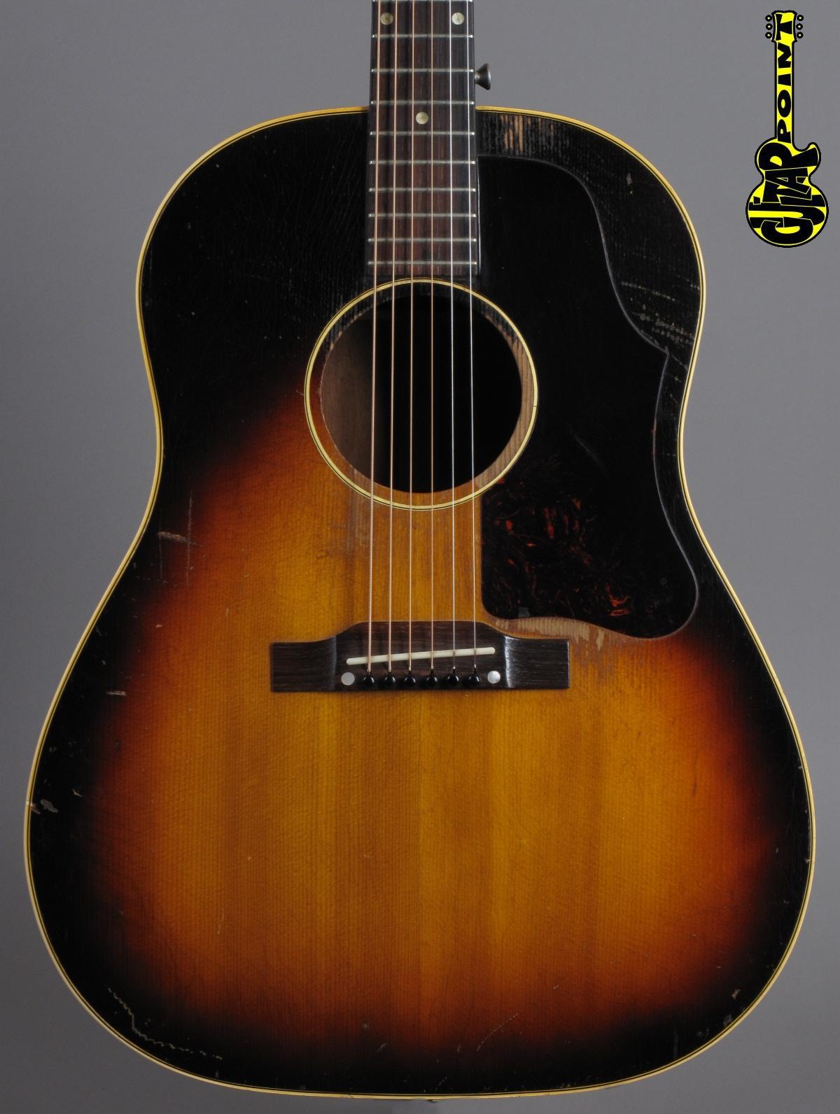 1956 Gibson J-45 - Sunburst