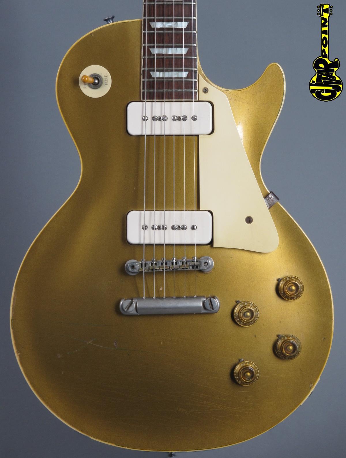 """1956 Gibson Les Paul Goldtop """"Darkback"""""""