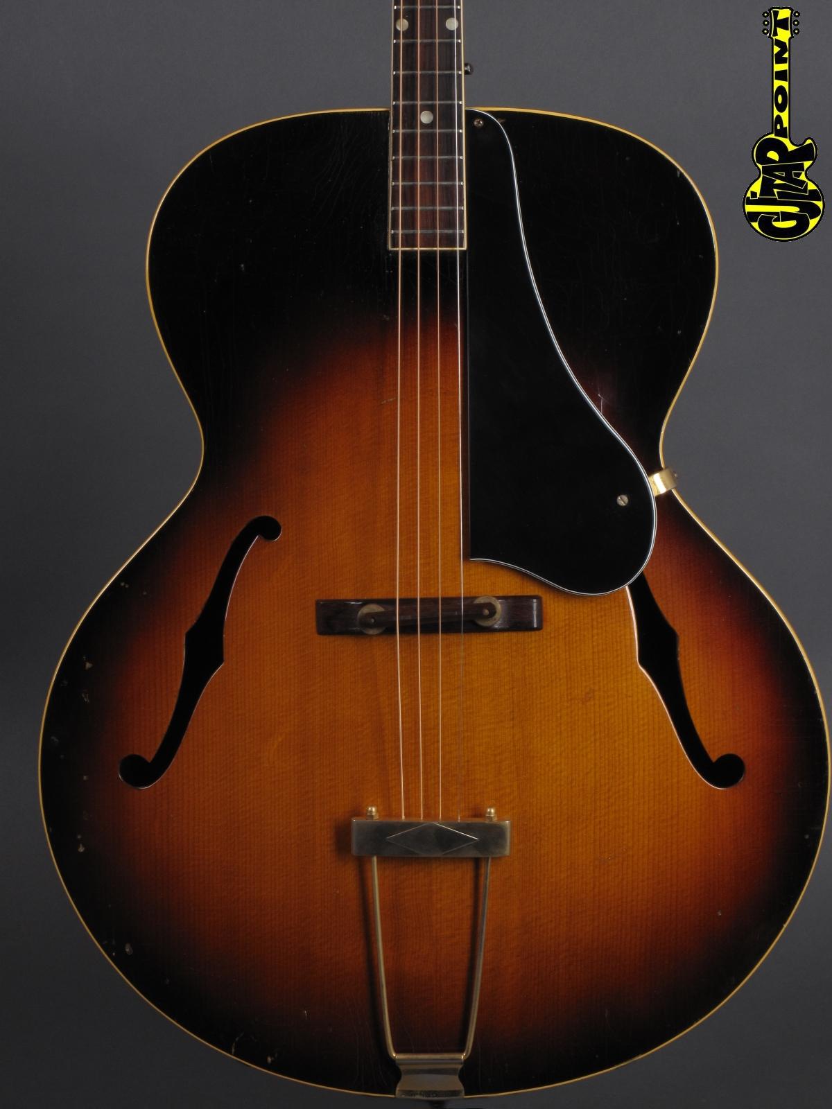 1956 Gibson TG-50 Tenor Guitar - Sunburst