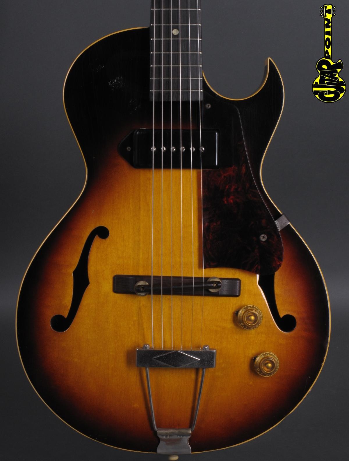 1957 Gibson ES 140 T - Sunburst  - incl. orig. Alligator case