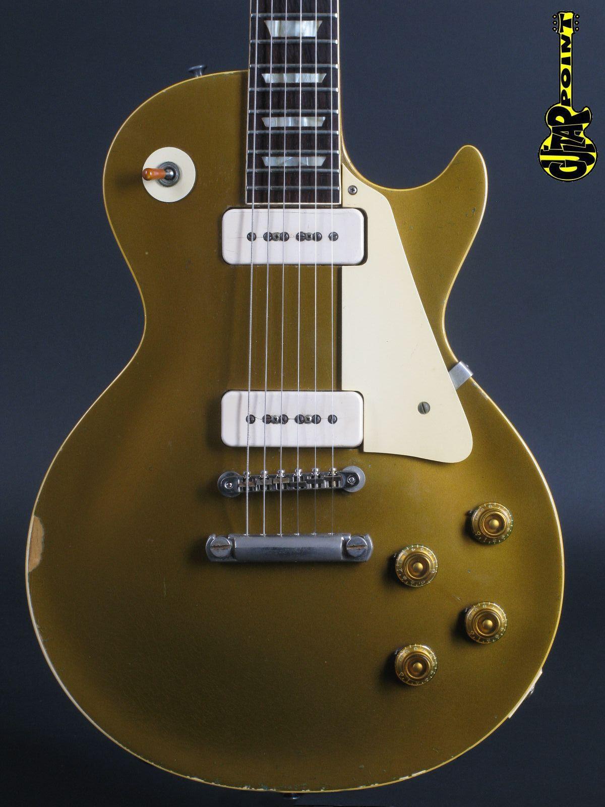 1958 Gibson Les Paul Standard Goldtop P90
