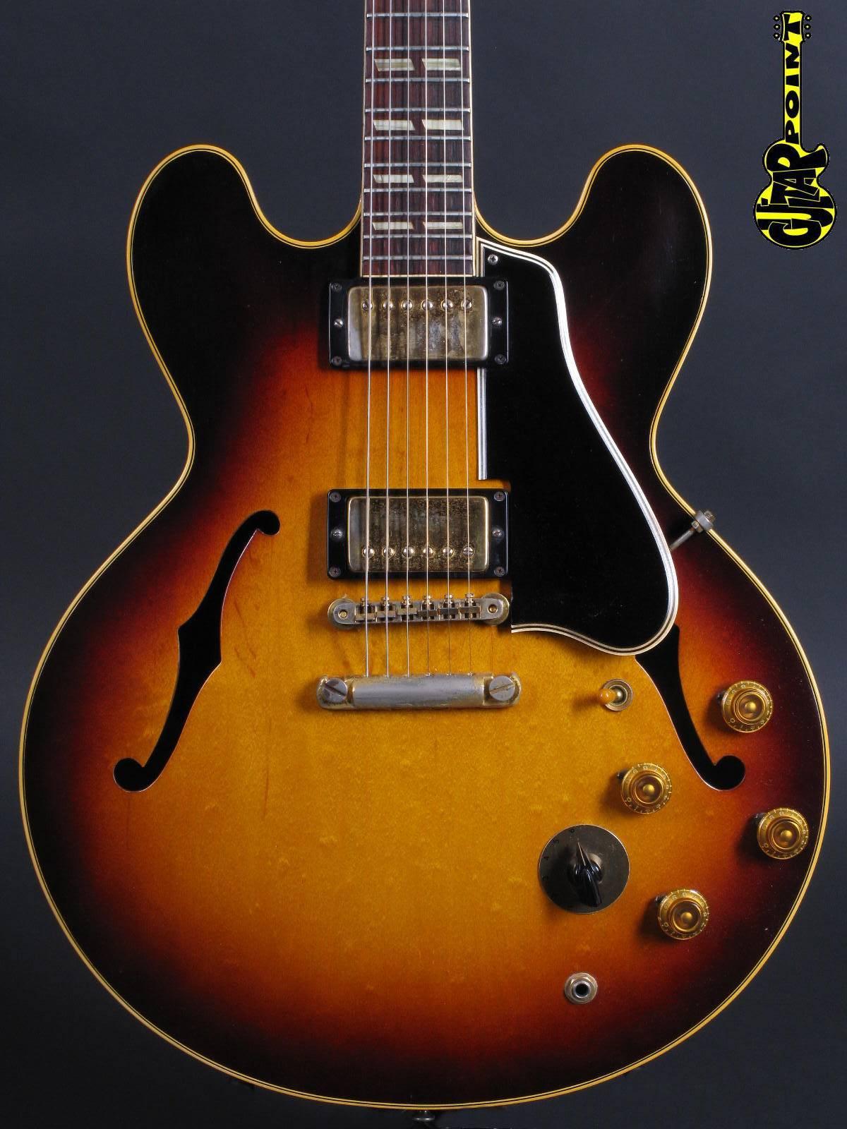 1959 Gibson ES-345 TDSV - Sunburst