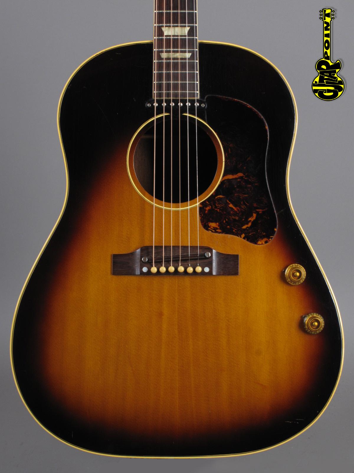1959 Gibson J-160E - Sunburst