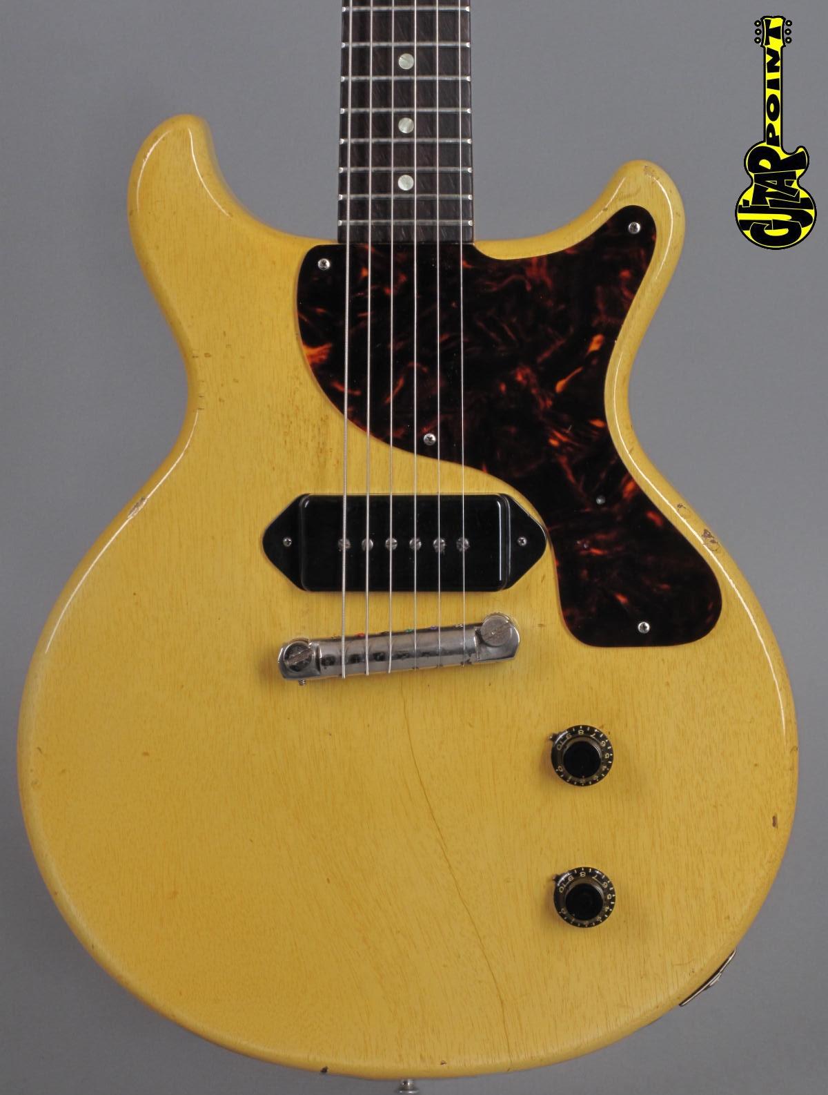 1959 Gibson Les Paul Junior DC - TV-Yellow