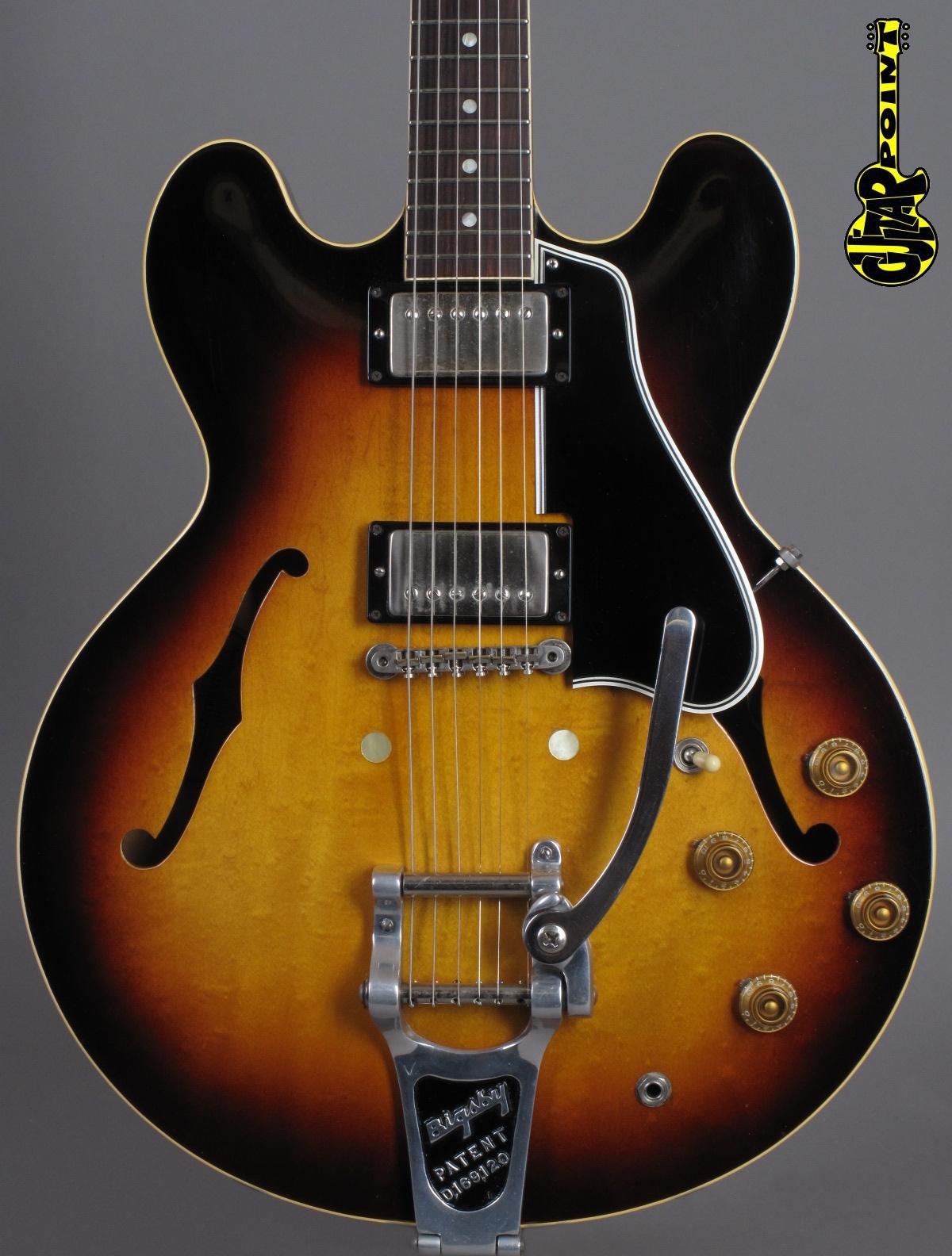 1960 Gibson ES-335 TD - Sunburst ...exceptional clean !!!