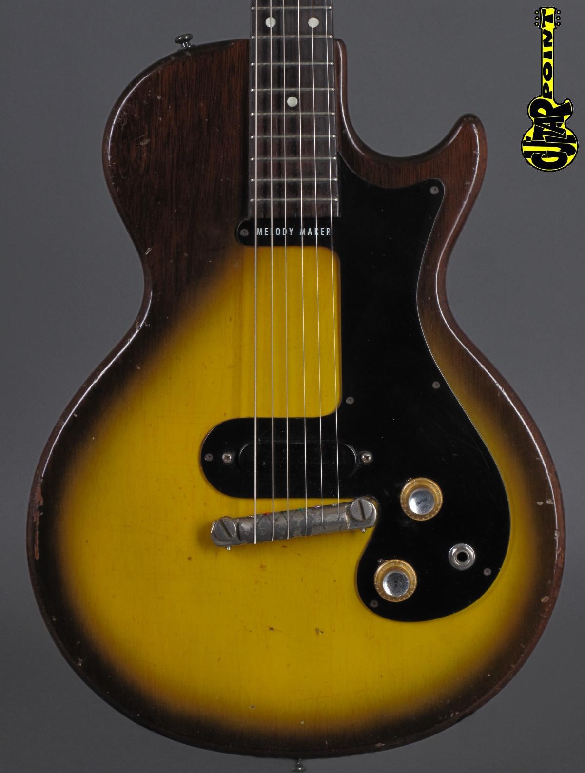 1960 Gibson Melody Maker 3/4 - Sunburst