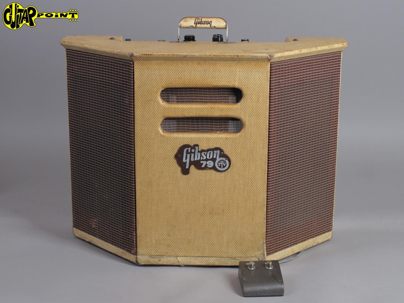 1961 Gibson GA-79 RVT - Multi Stereo Amplifier