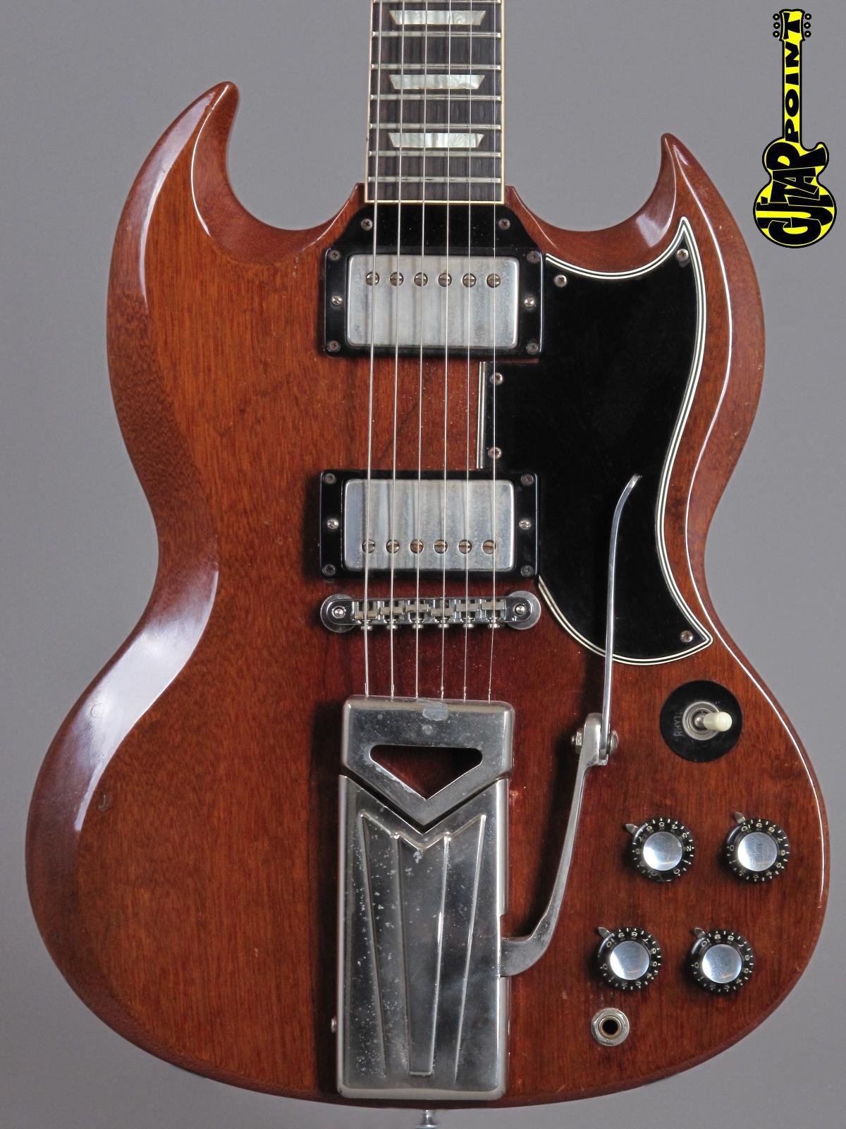 1961 Gibson Les Paul (SG) Standard - Cherry (2xPAF´s)