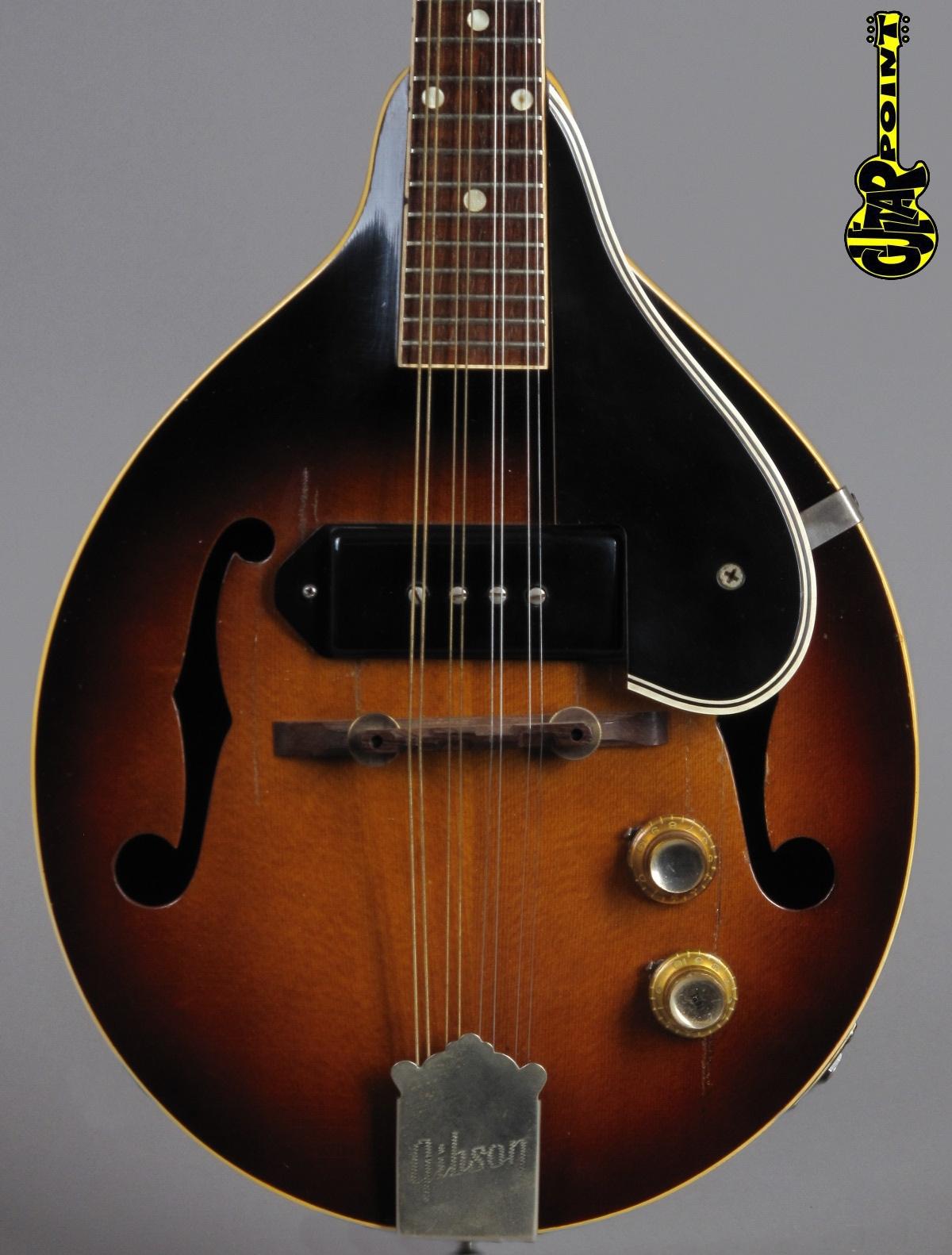 1962 Gibson EM-150 Electric Mandolin