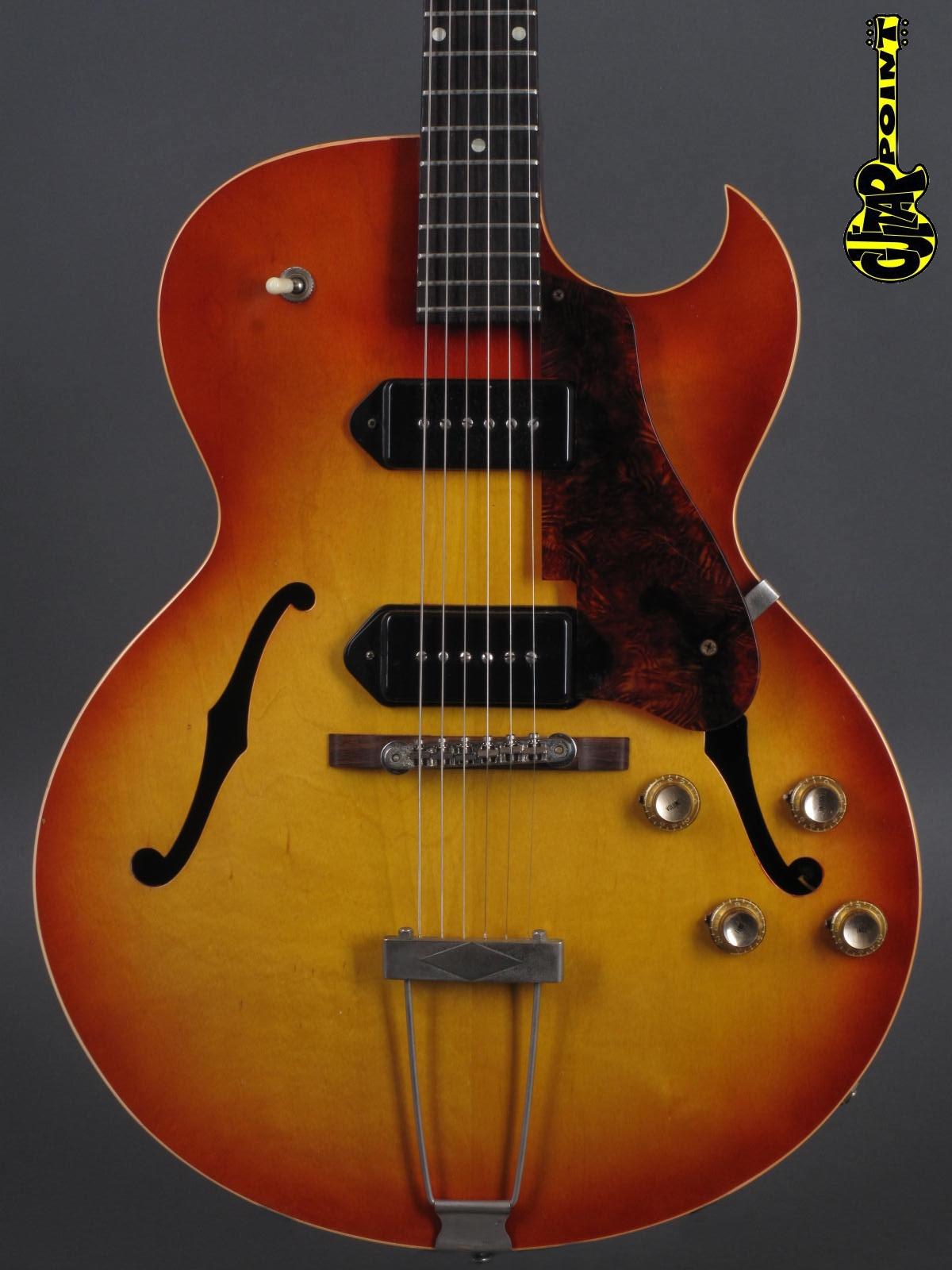 1962 Gibson ES 125 TDC - Cherry Sunburst