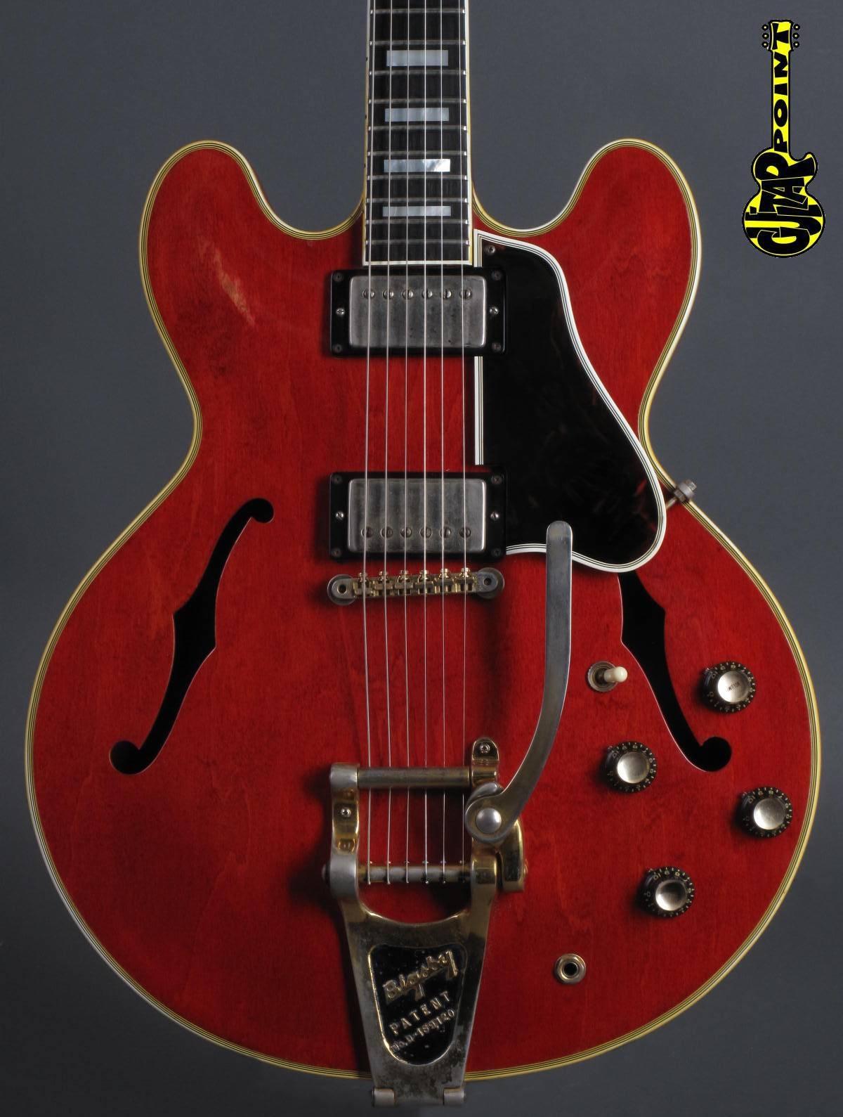 1962 Gibson ES-355 TD - Cherry - 2x PAF !!!