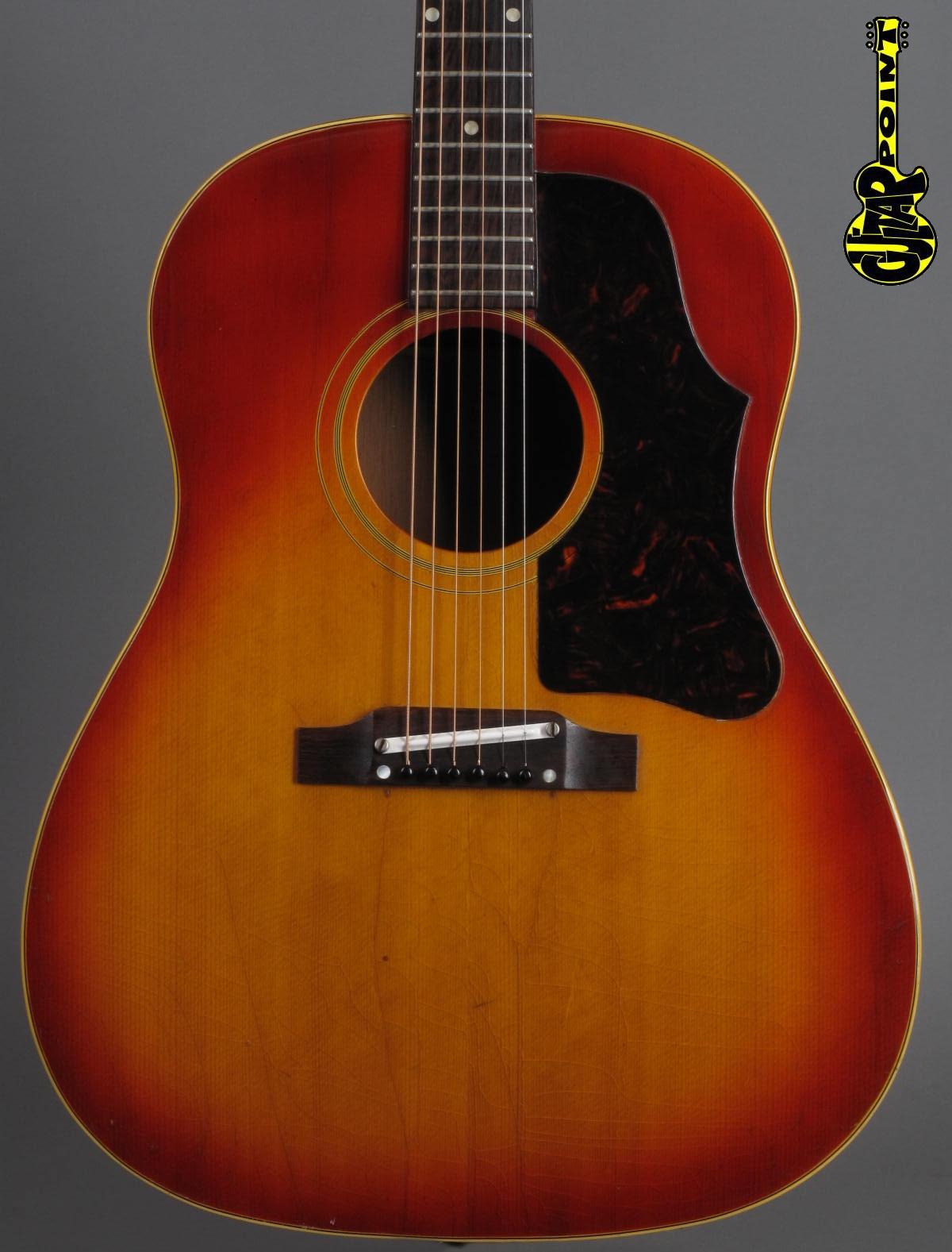 1962 Gibson J-45 - Cherry Sunburst