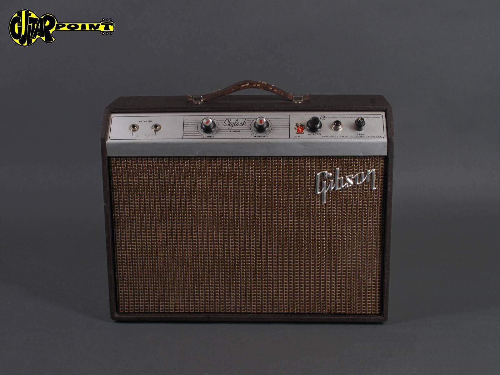 1962 Gibson GA-5T Skylark - Tube Amplifier
