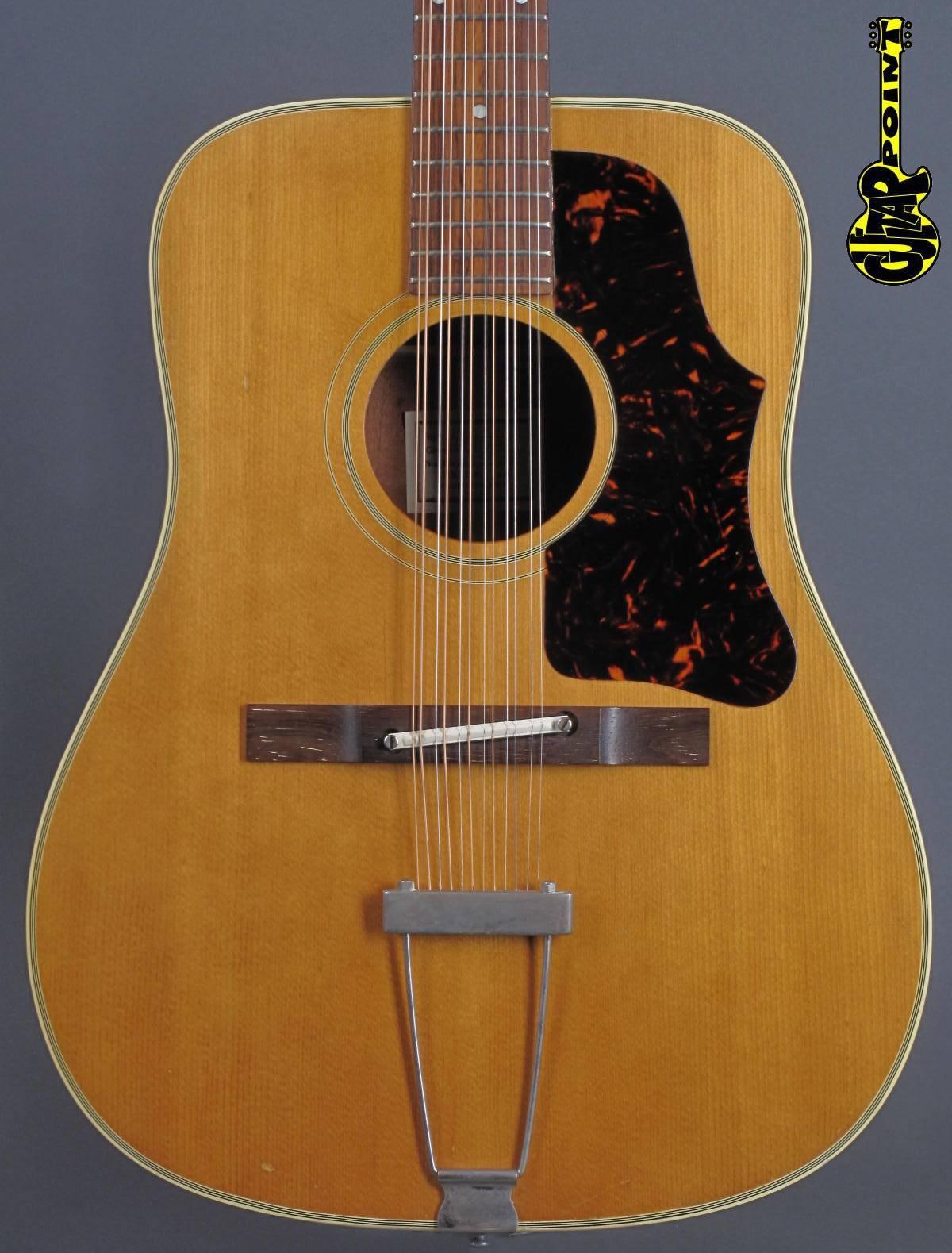 1963 Gibson B-45 12-string - Natural